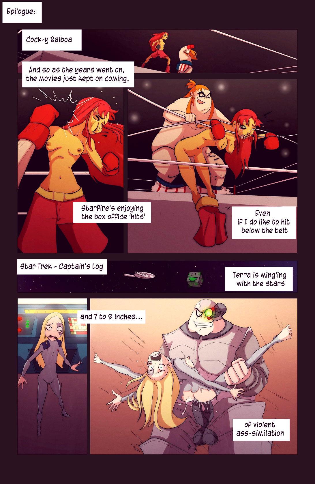 A few less titans porn comic picture 19