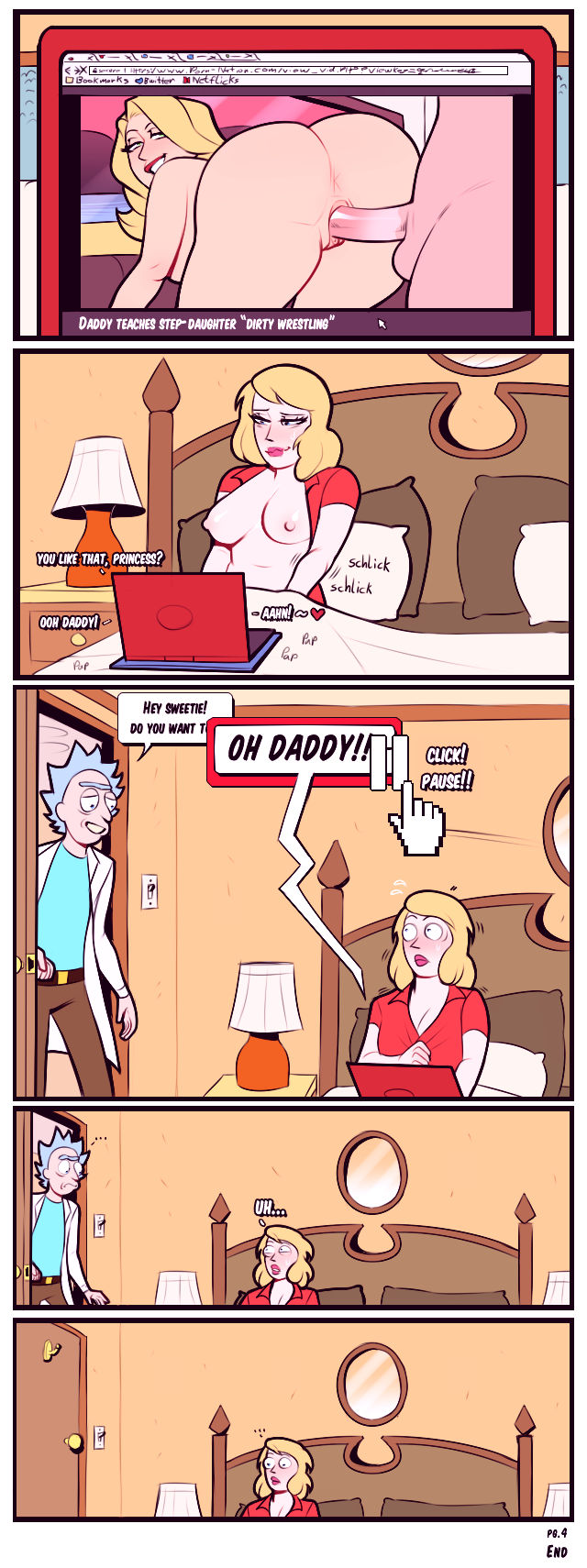 A760 morty and summer porn comic picture 7