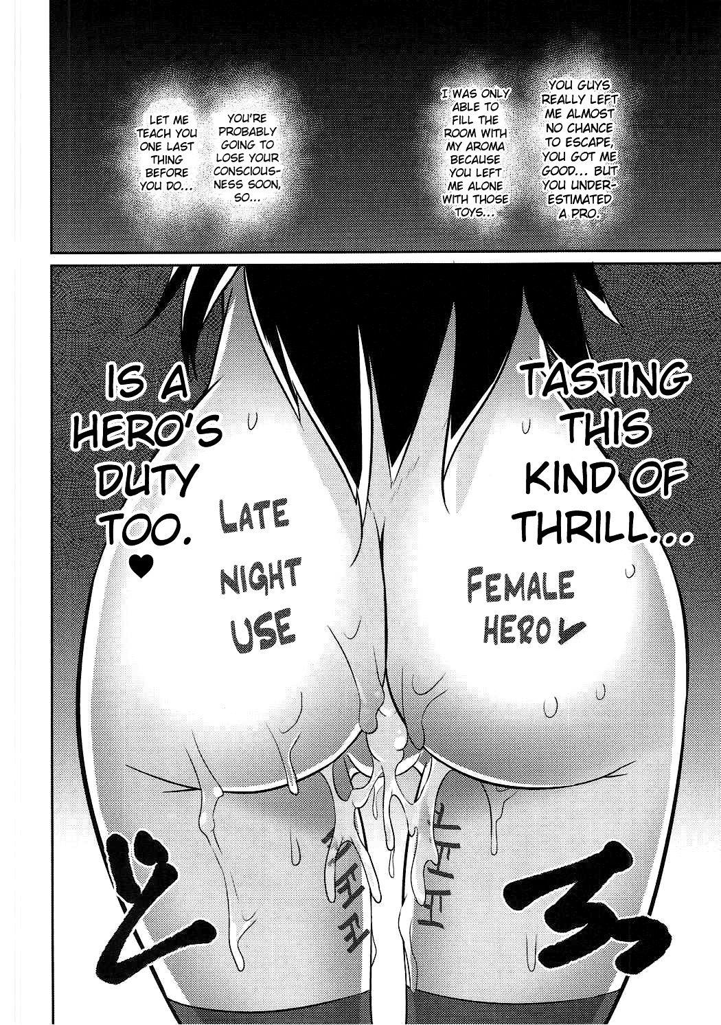 Deep night hero hentai manga picture 17
