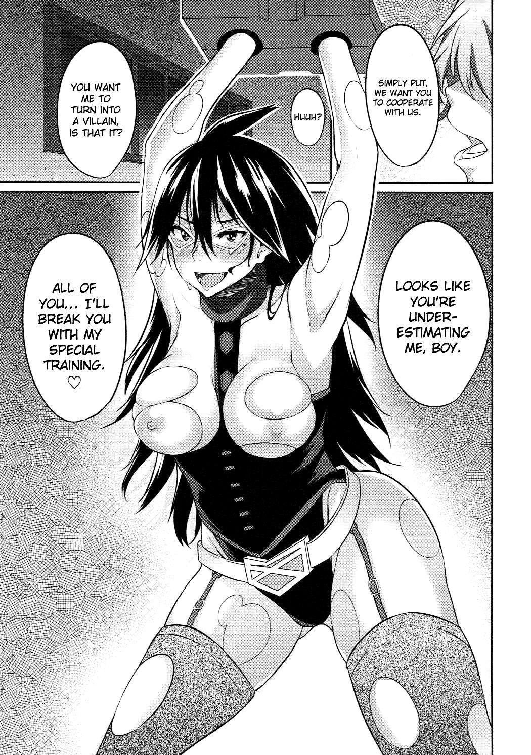 Deep night hero hentai manga picture 2
