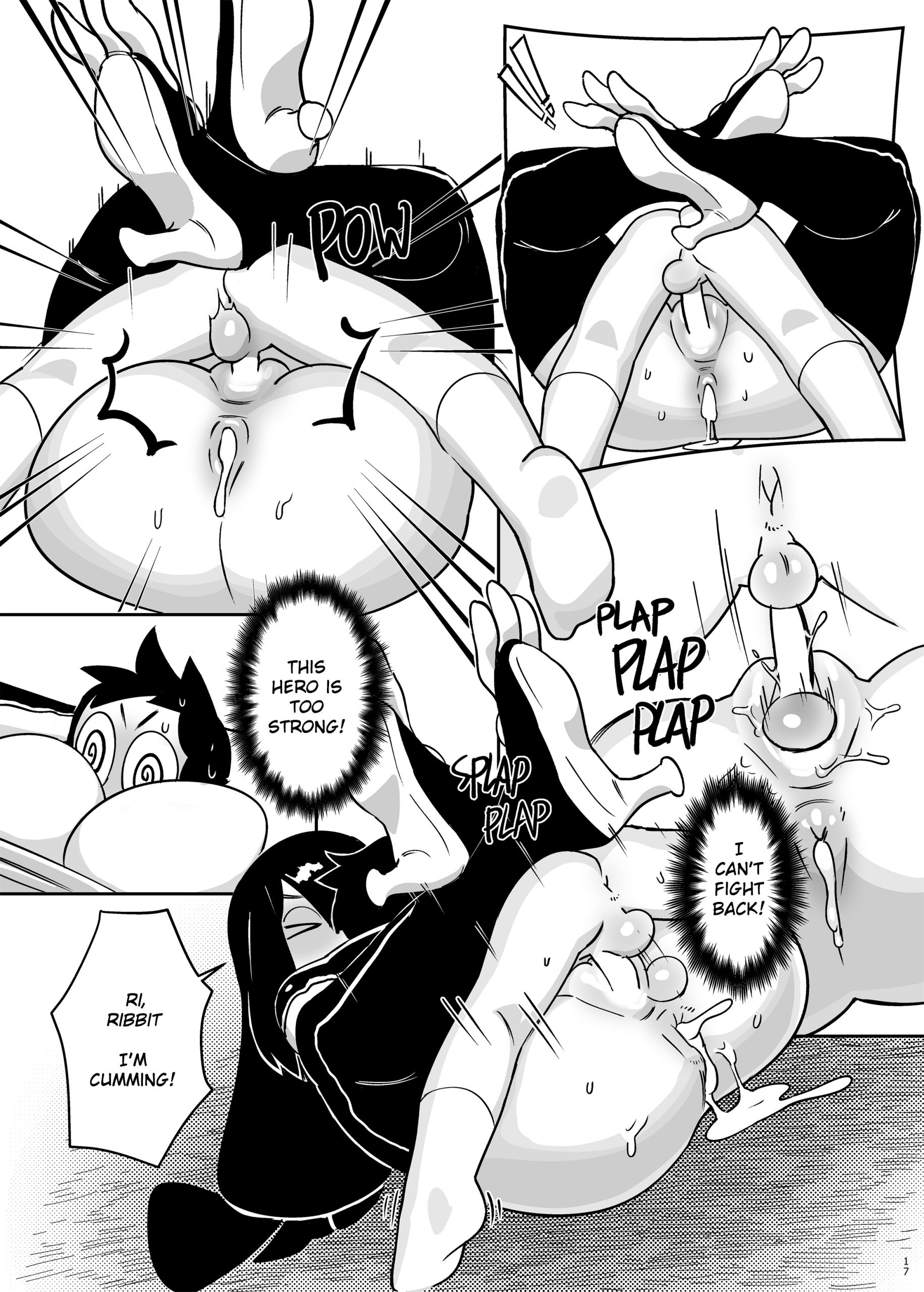 Go at your own pace hentai manga picture 18