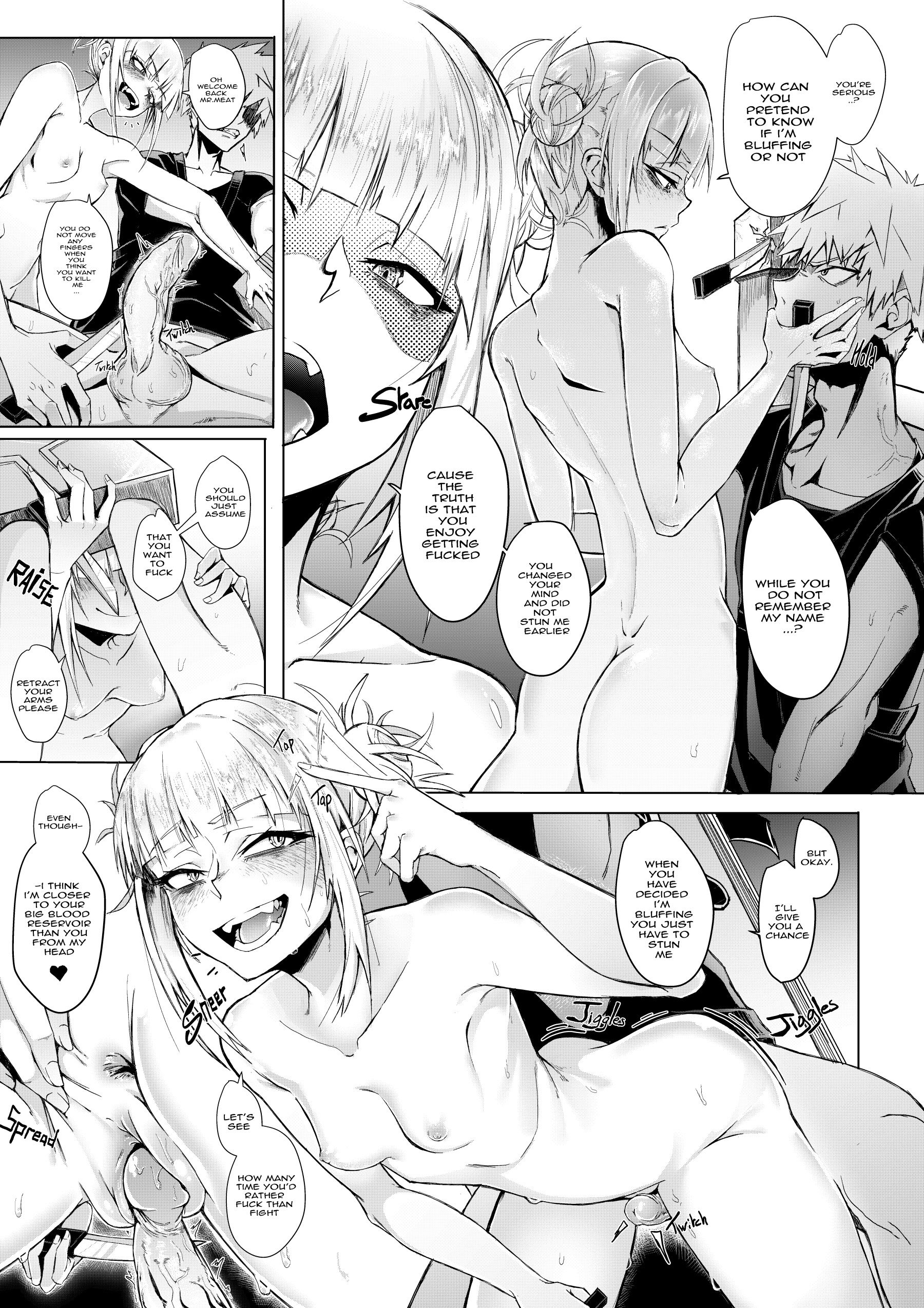 Lets try not to kill each other okay hentai manga picture 19