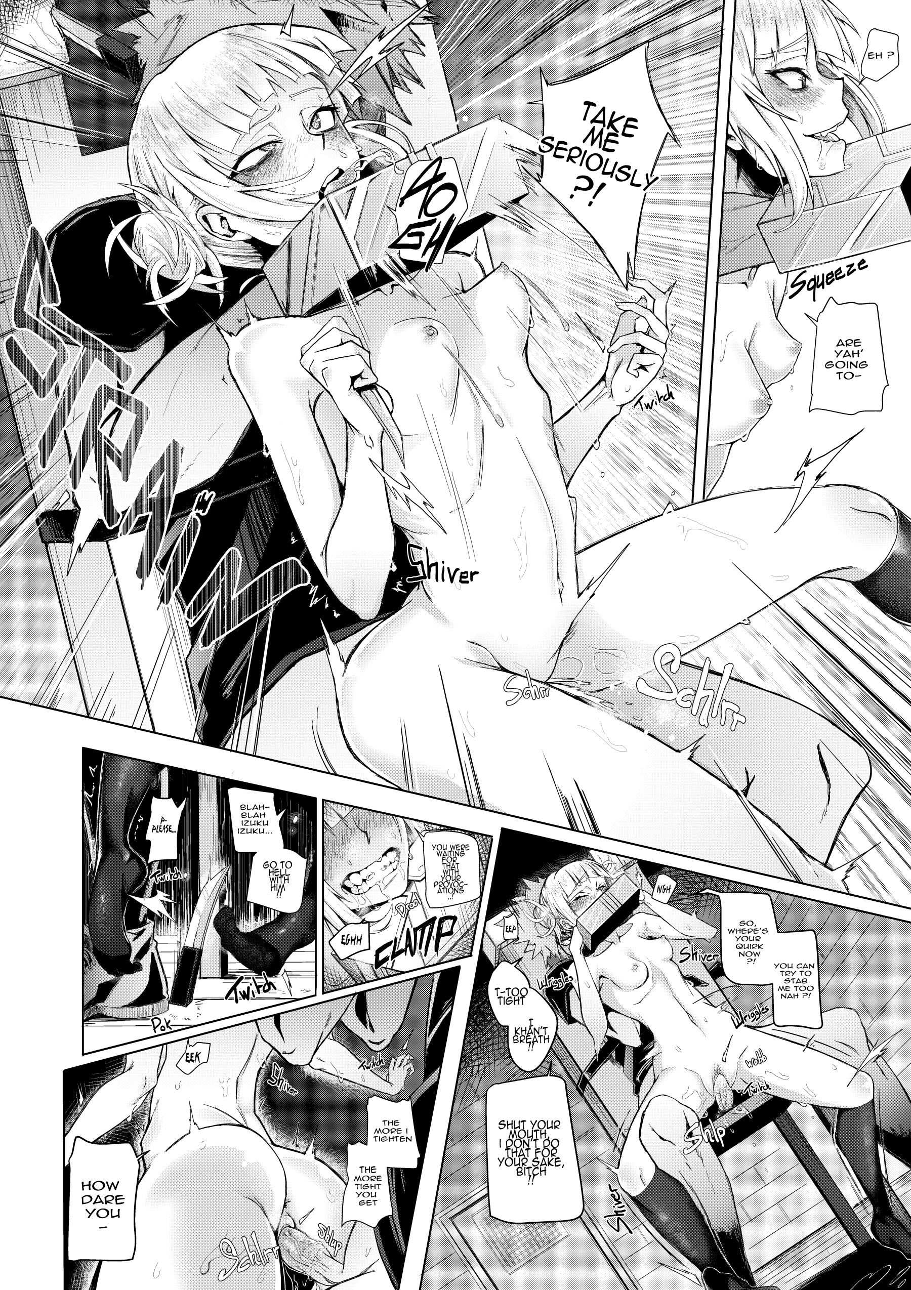 Lets try not to kill each other okay hentai manga picture 22