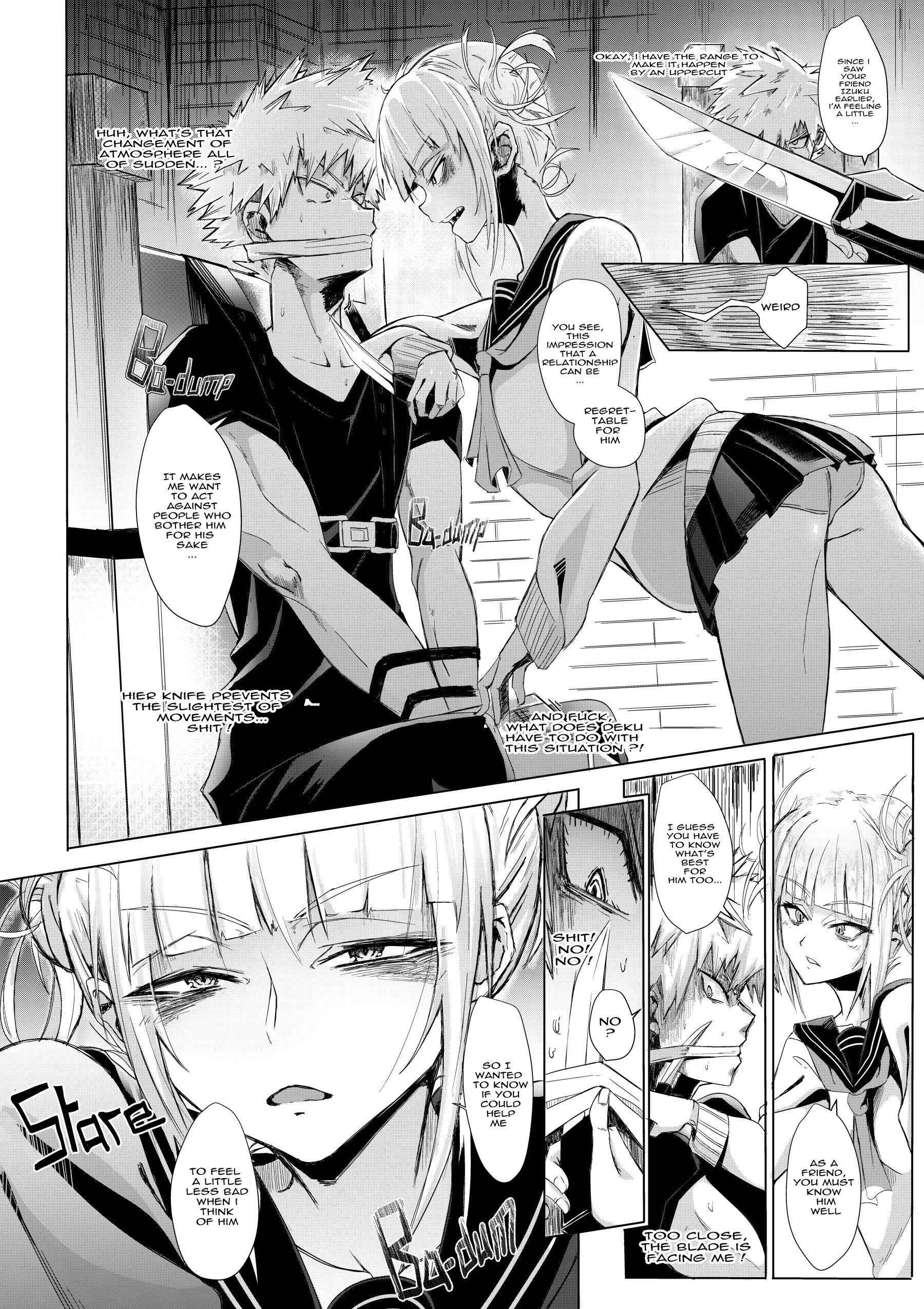 Lets try not to kill each other okay hentai manga picture 6
