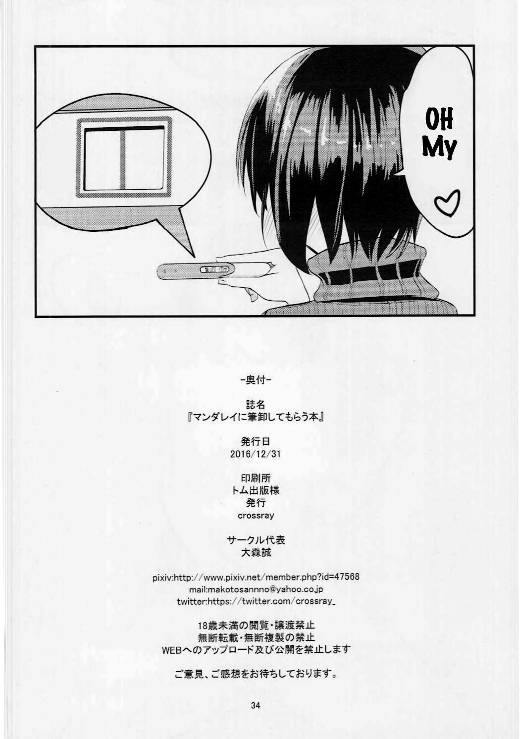 Mandalay ni fude oroshi shite morau hon hentai manga picture 33