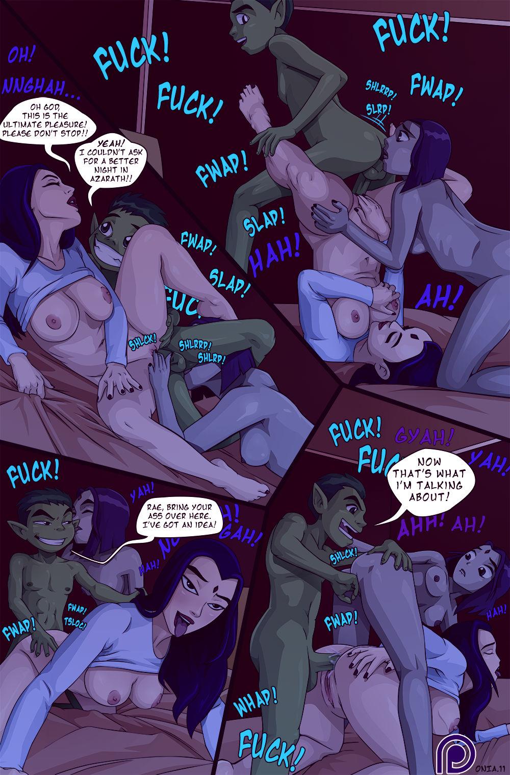 One night in azarath porn comic picture 11