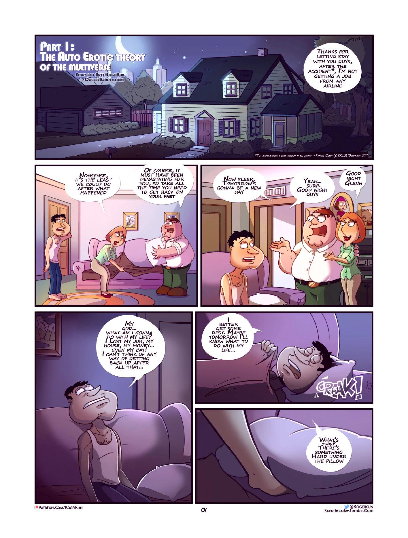 Quagmire into the multiverse porn comic picture 2