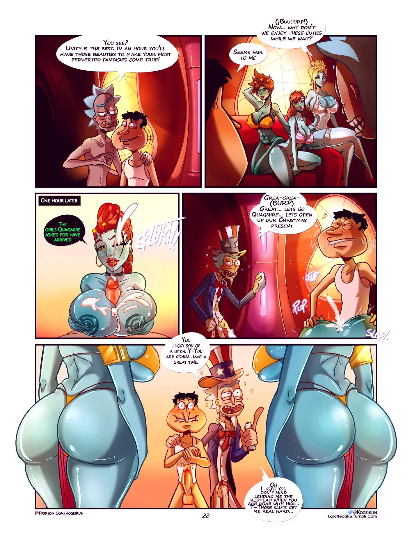 Quagmire into the multiverse porn comic picture 23