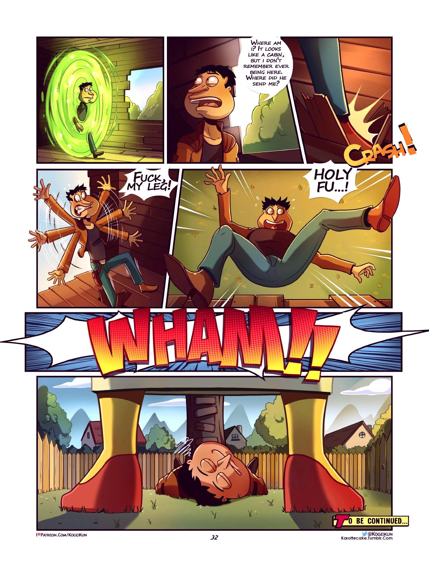 Quagmire into the multiverse porn comic picture 33