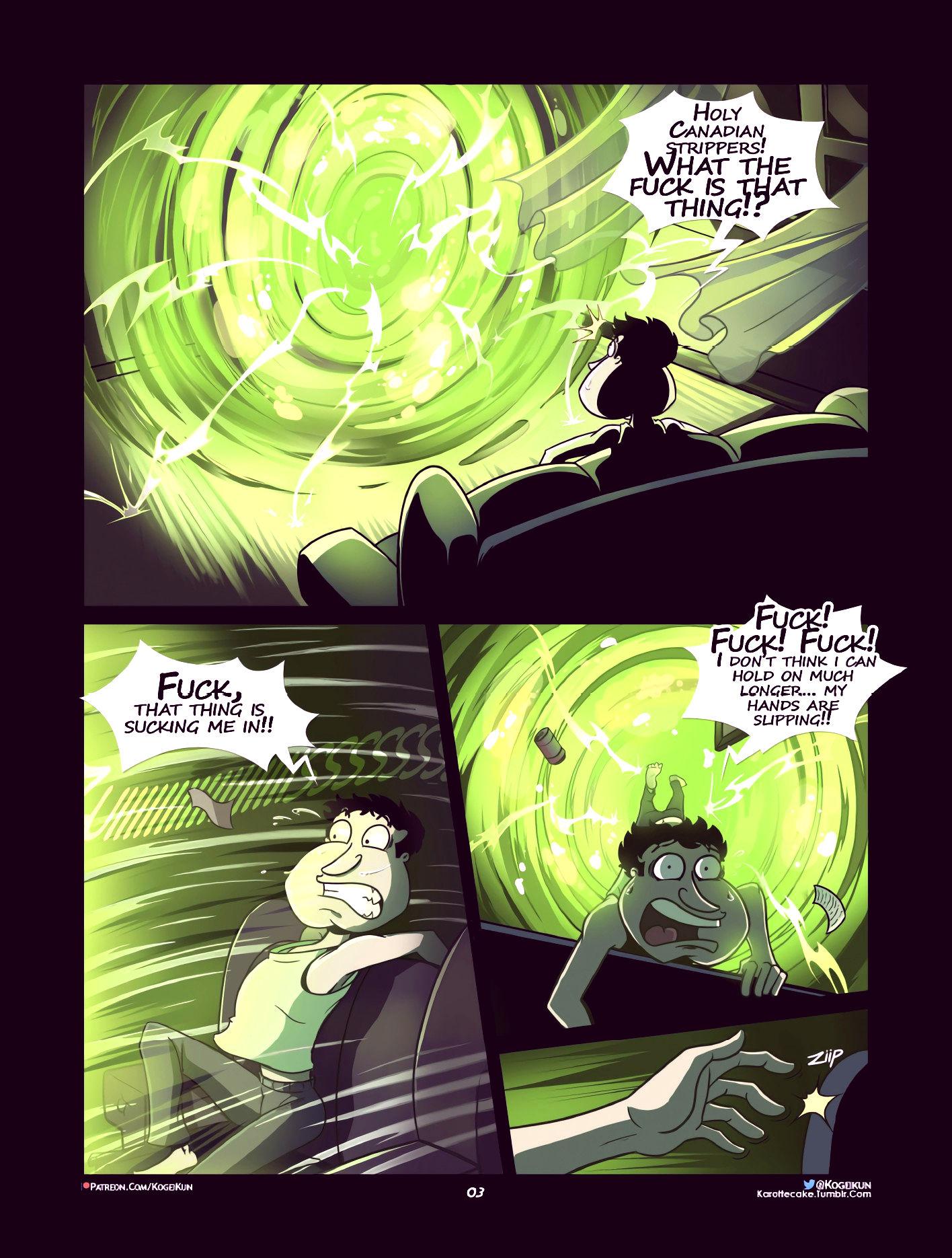 Quagmire into the multiverse porn comic picture 4