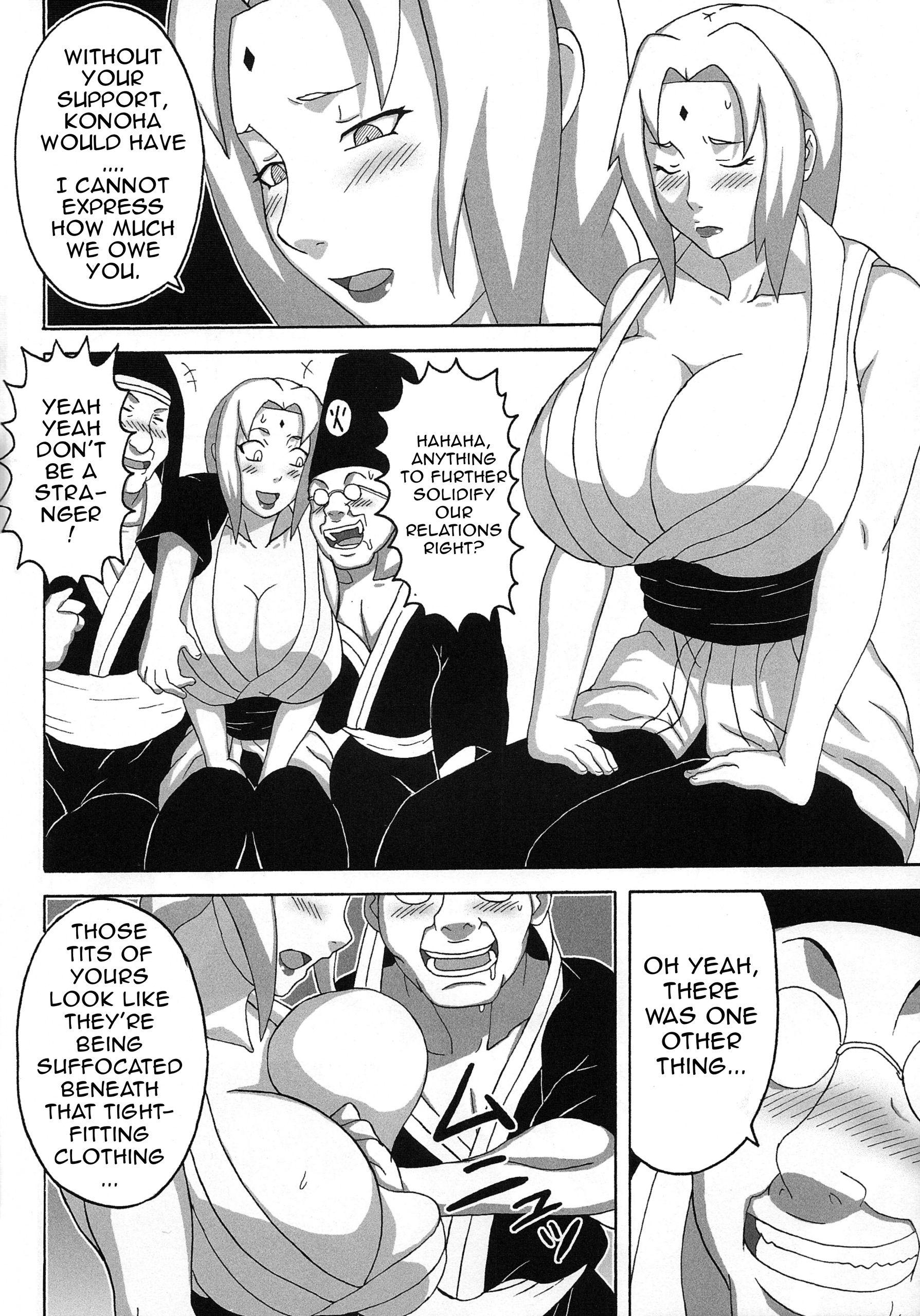 Tsunades lewd reception party hentai manga picture 3