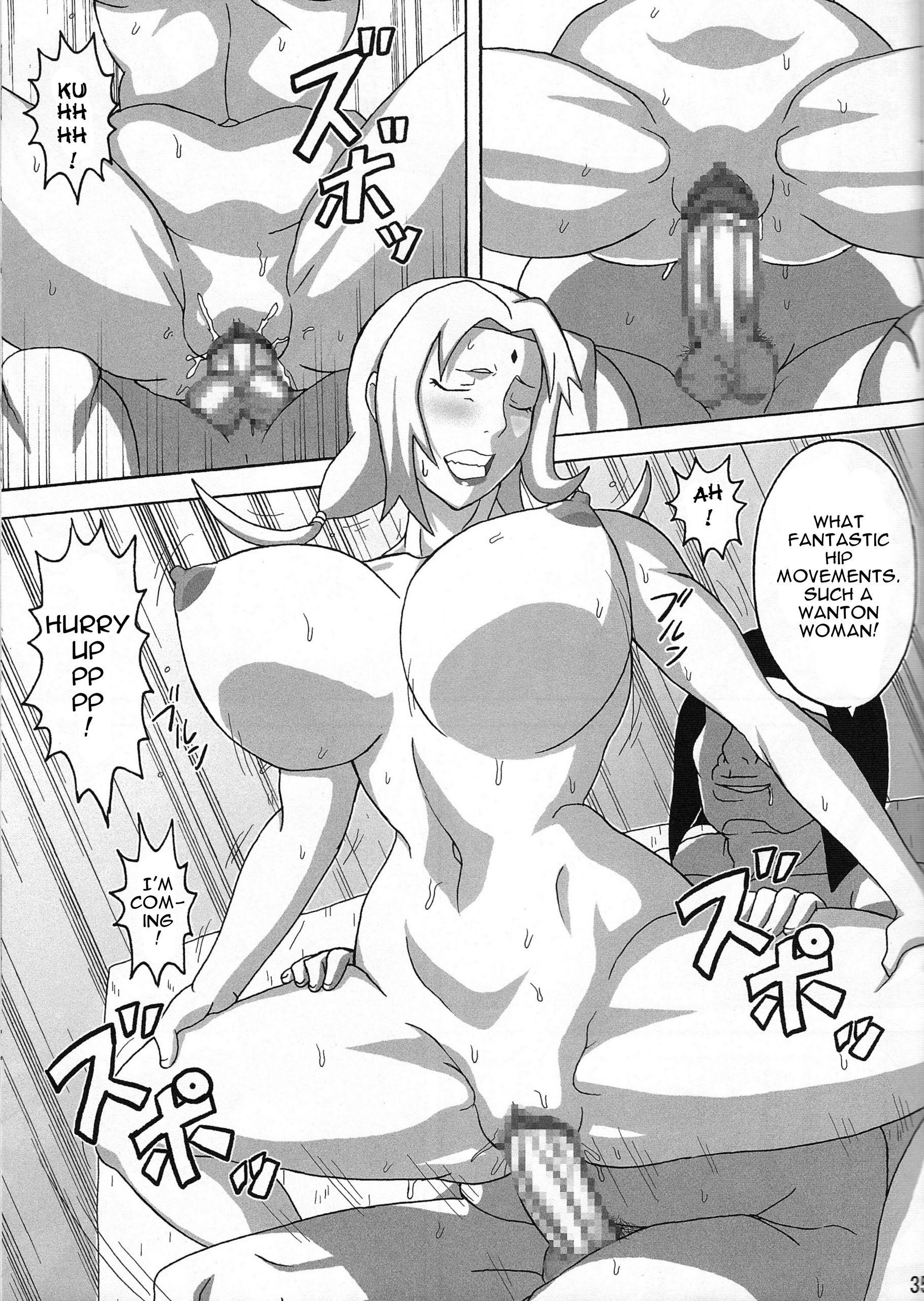 Tsunades lewd reception party hentai manga picture 36