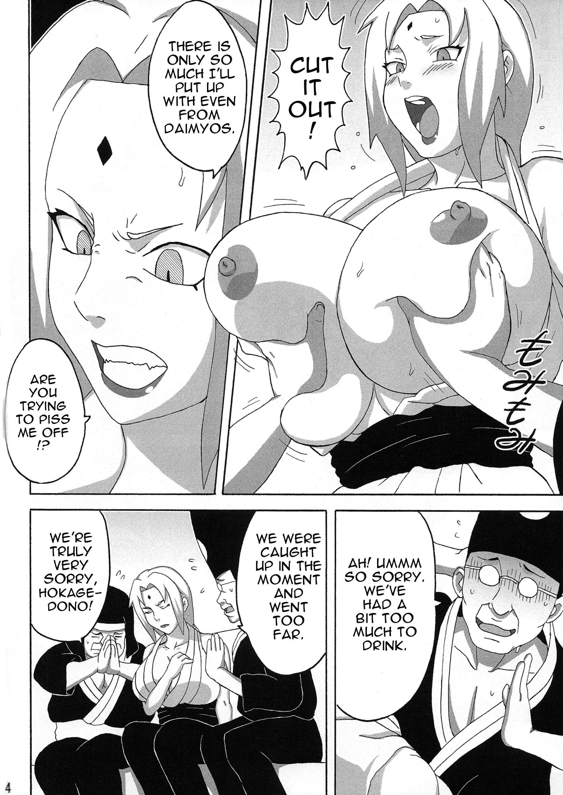 Tsunades lewd reception party hentai manga picture 5