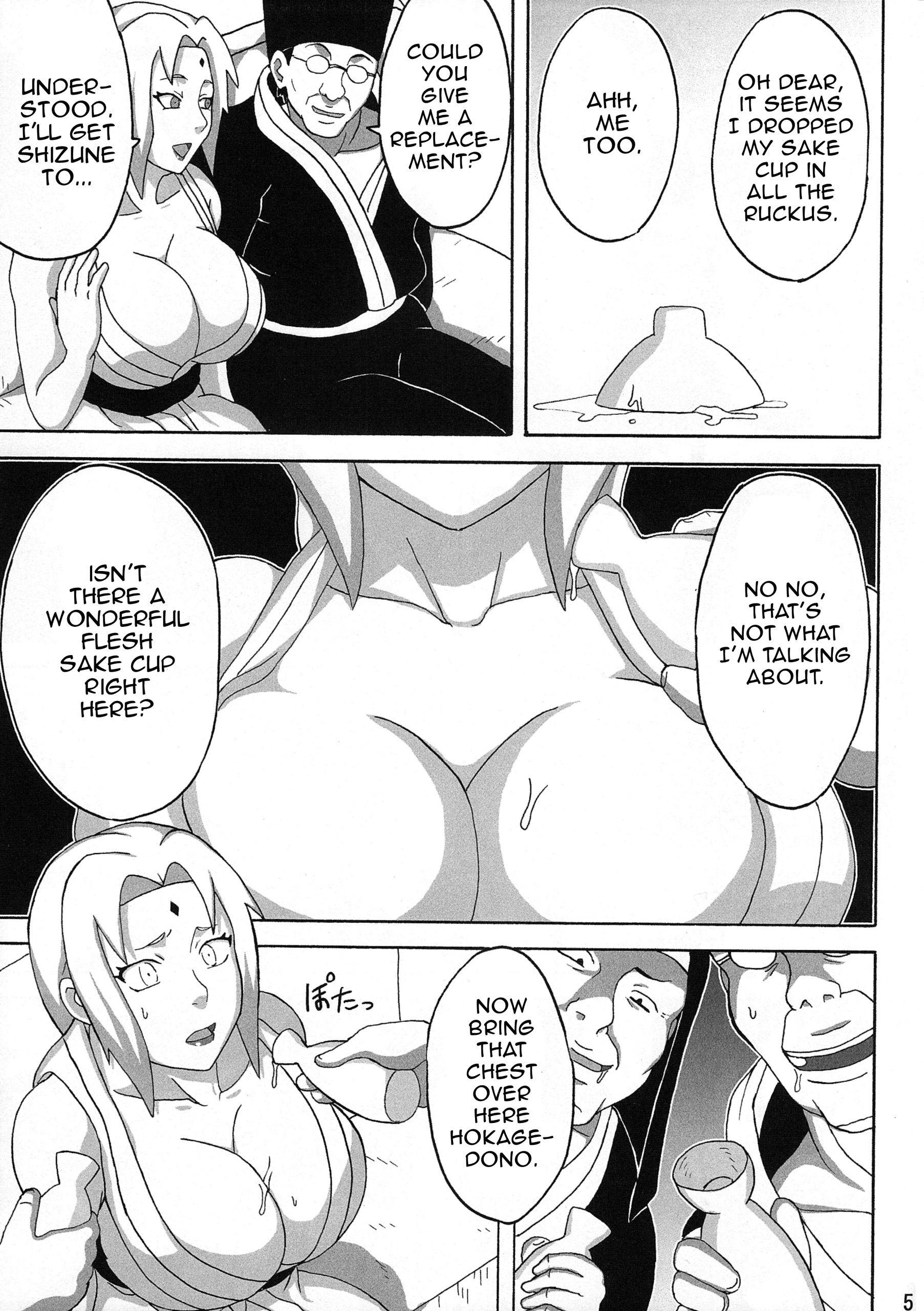 Tsunades lewd reception party hentai manga picture 6