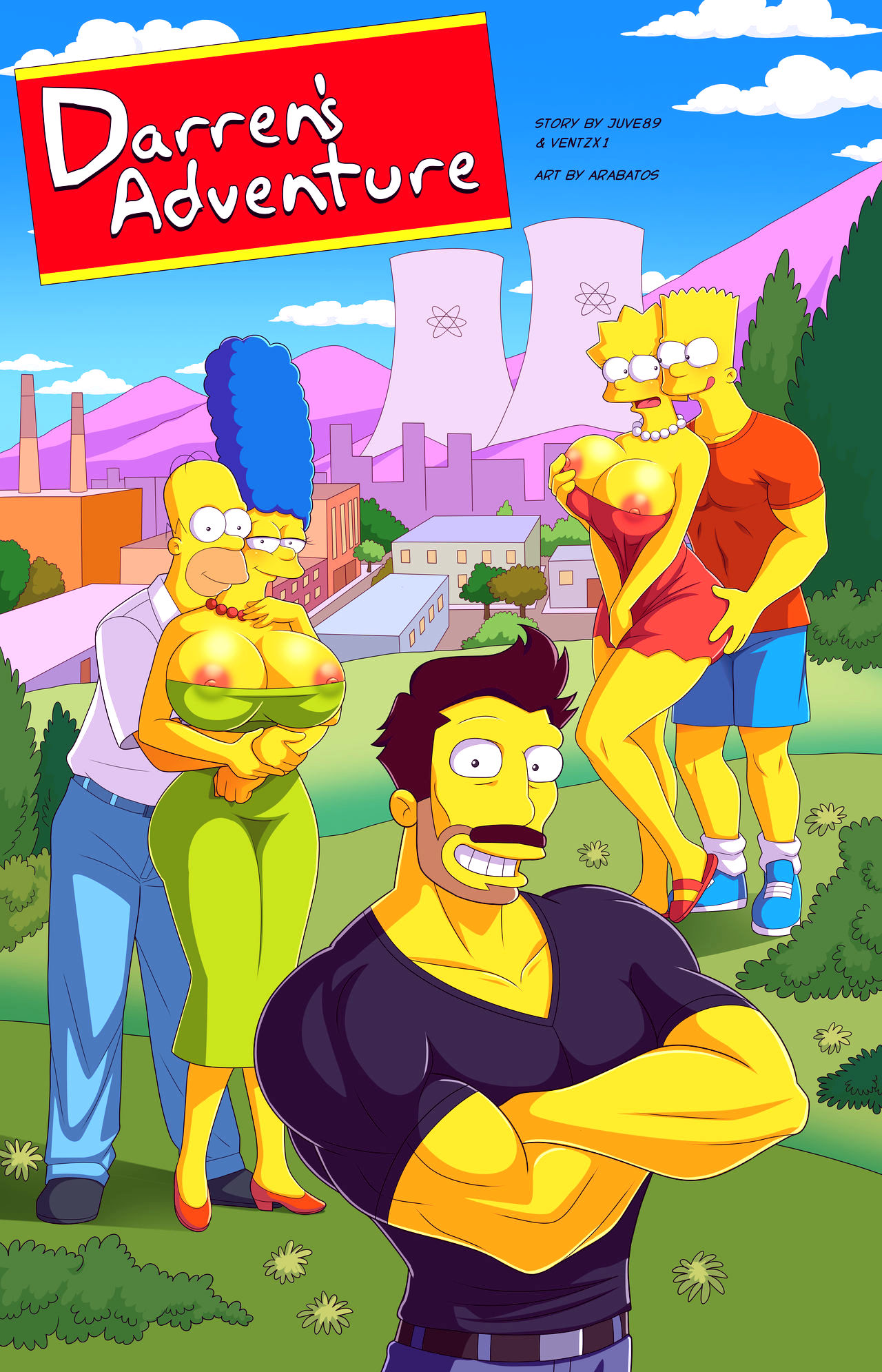 Darrens adventure or welcome to springfield porn comic picture 1