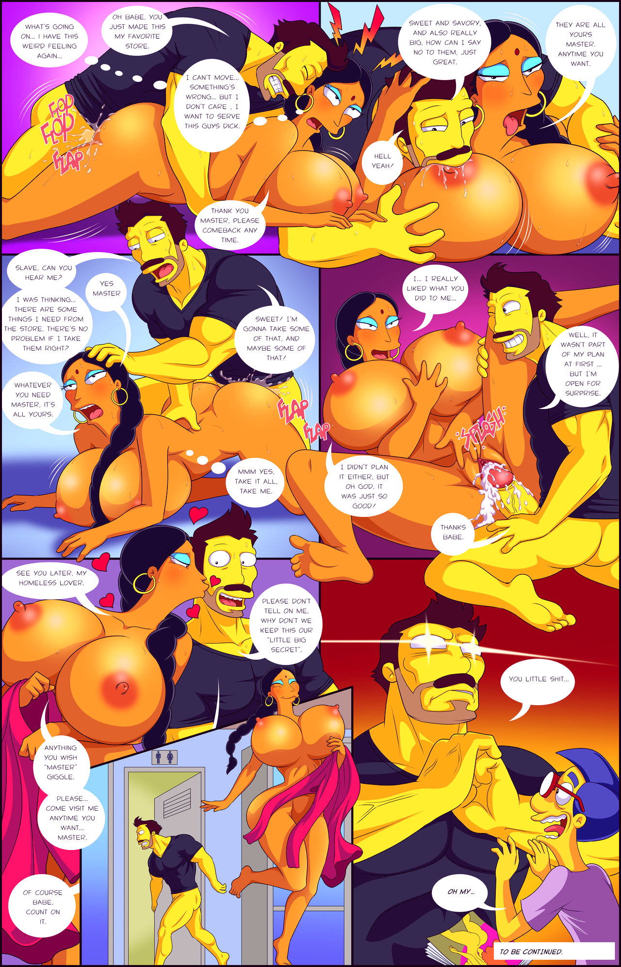 Darrens adventure or welcome to springfield porn comic picture 17