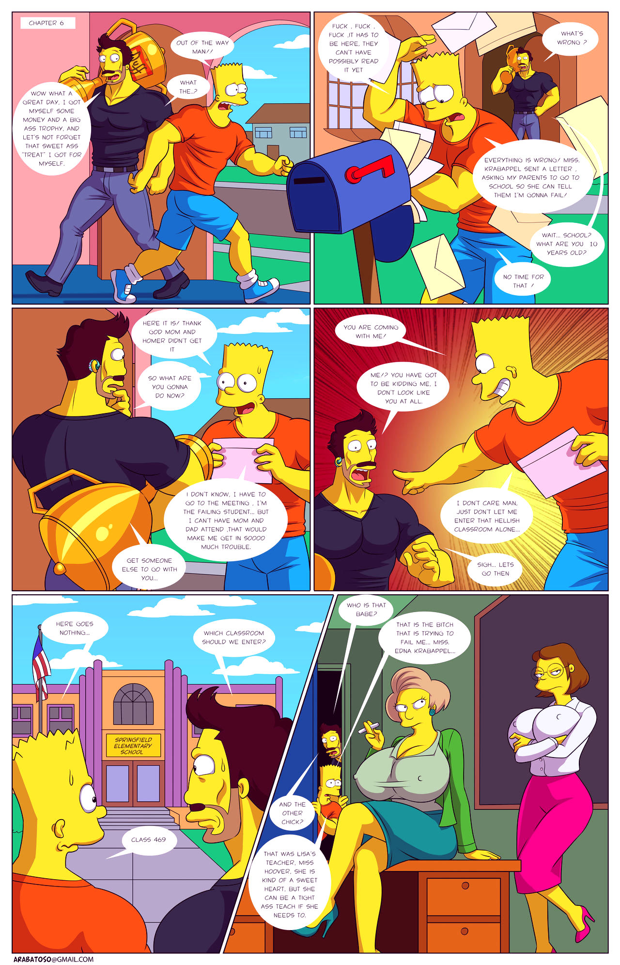 Darrens adventure or welcome to springfield porn comic picture 28