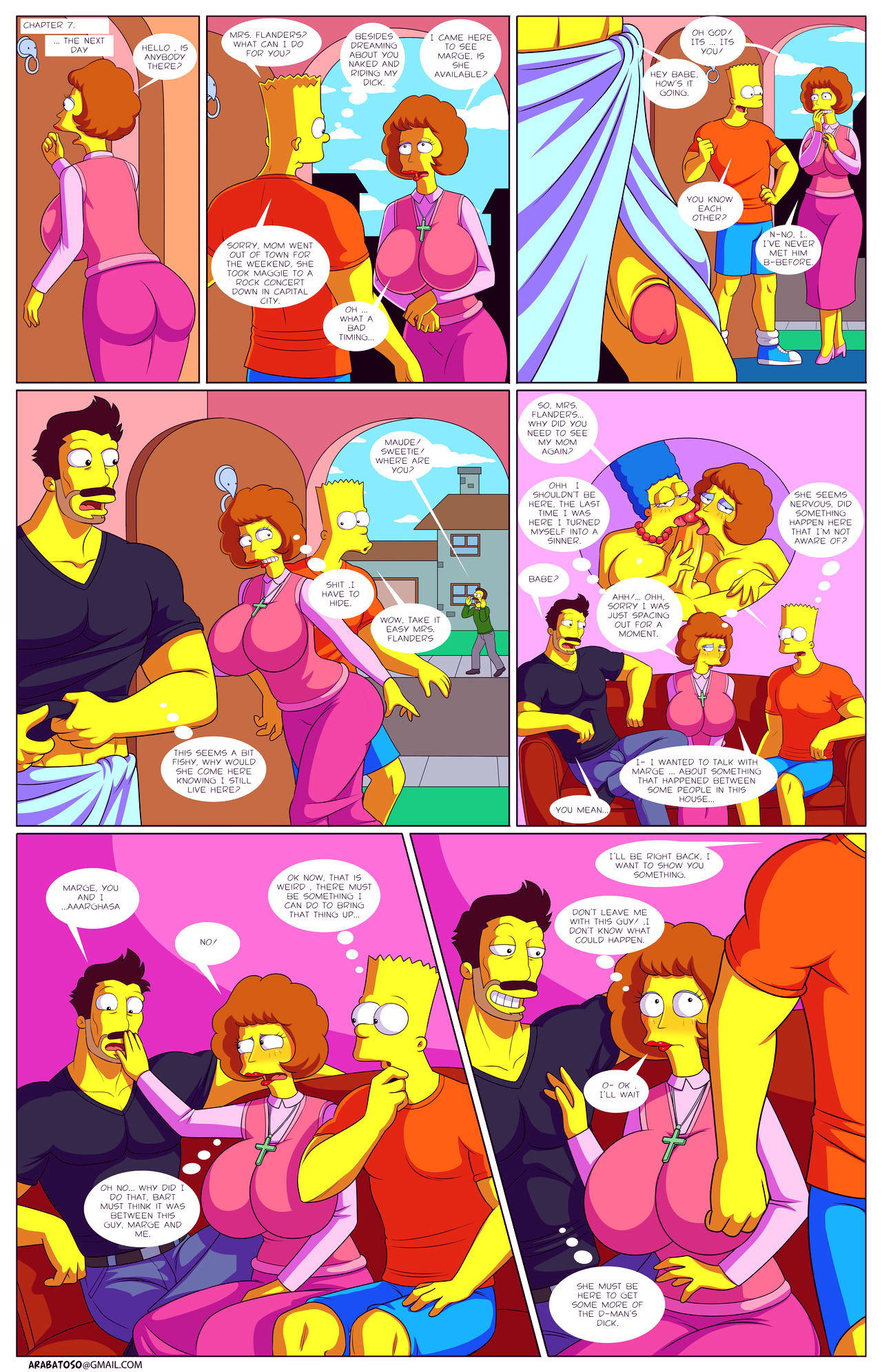 Darrens adventure or welcome to springfield porn comic picture 34