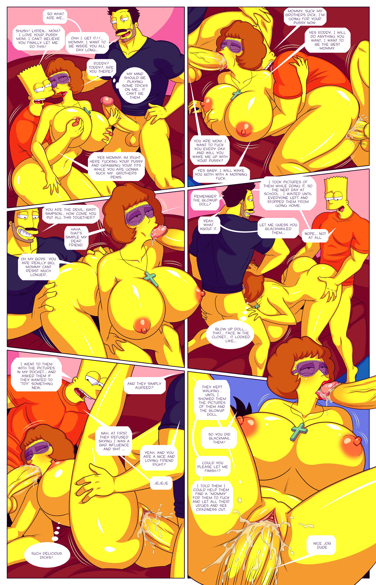 Darrens adventure or welcome to springfield porn comic picture 37