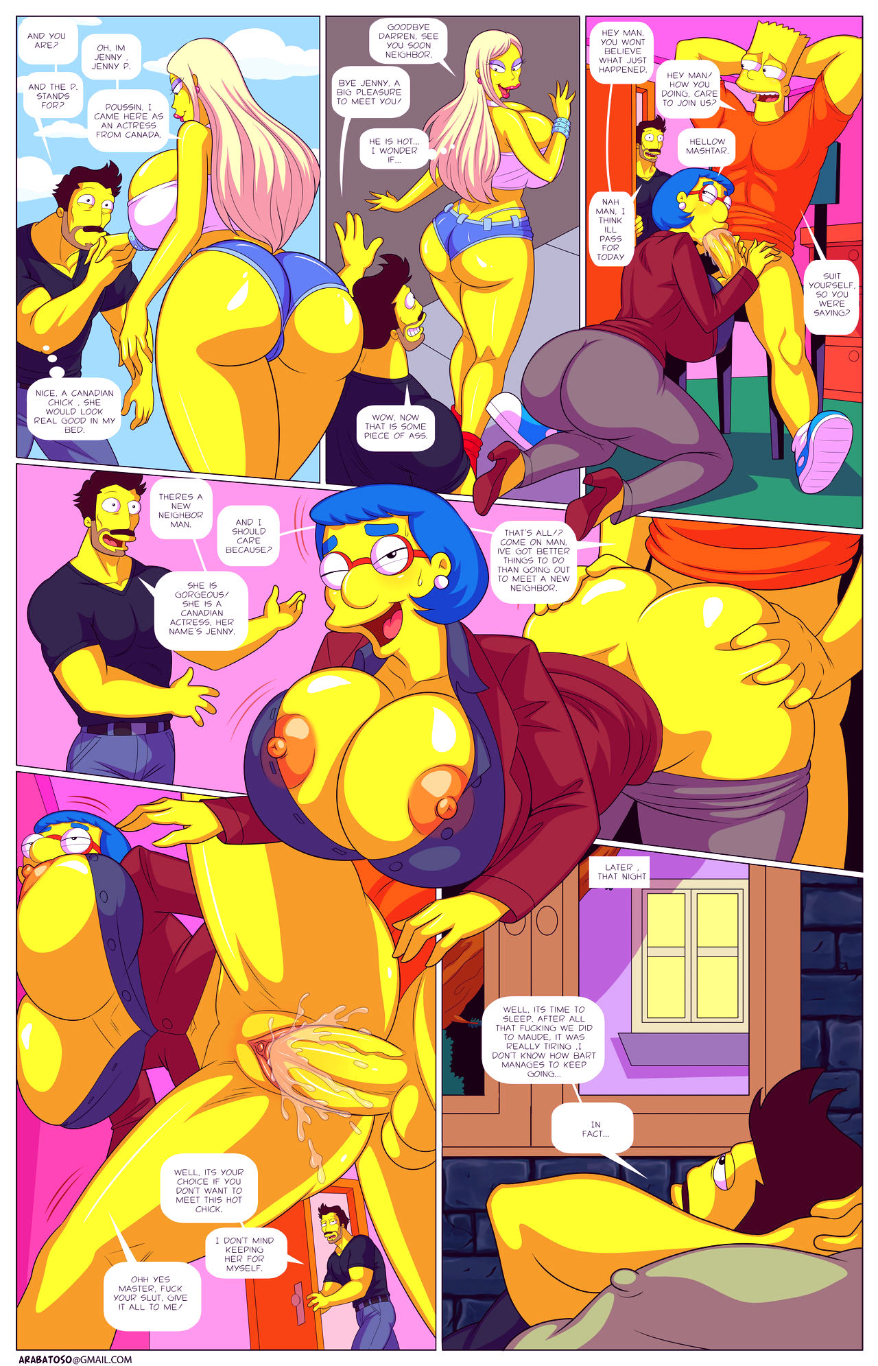 Darrens adventure or welcome to springfield porn comic picture 41