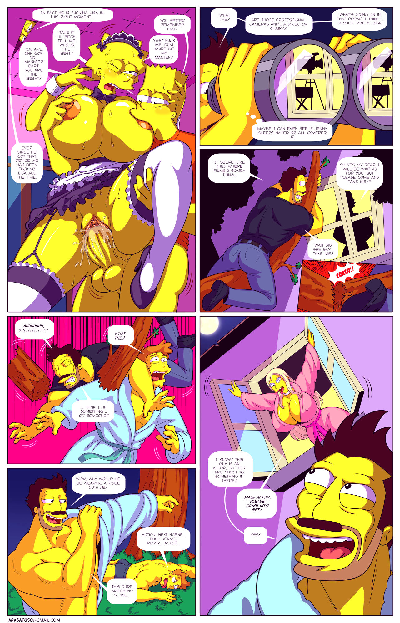 Darrens adventure or welcome to springfield porn comic picture 42