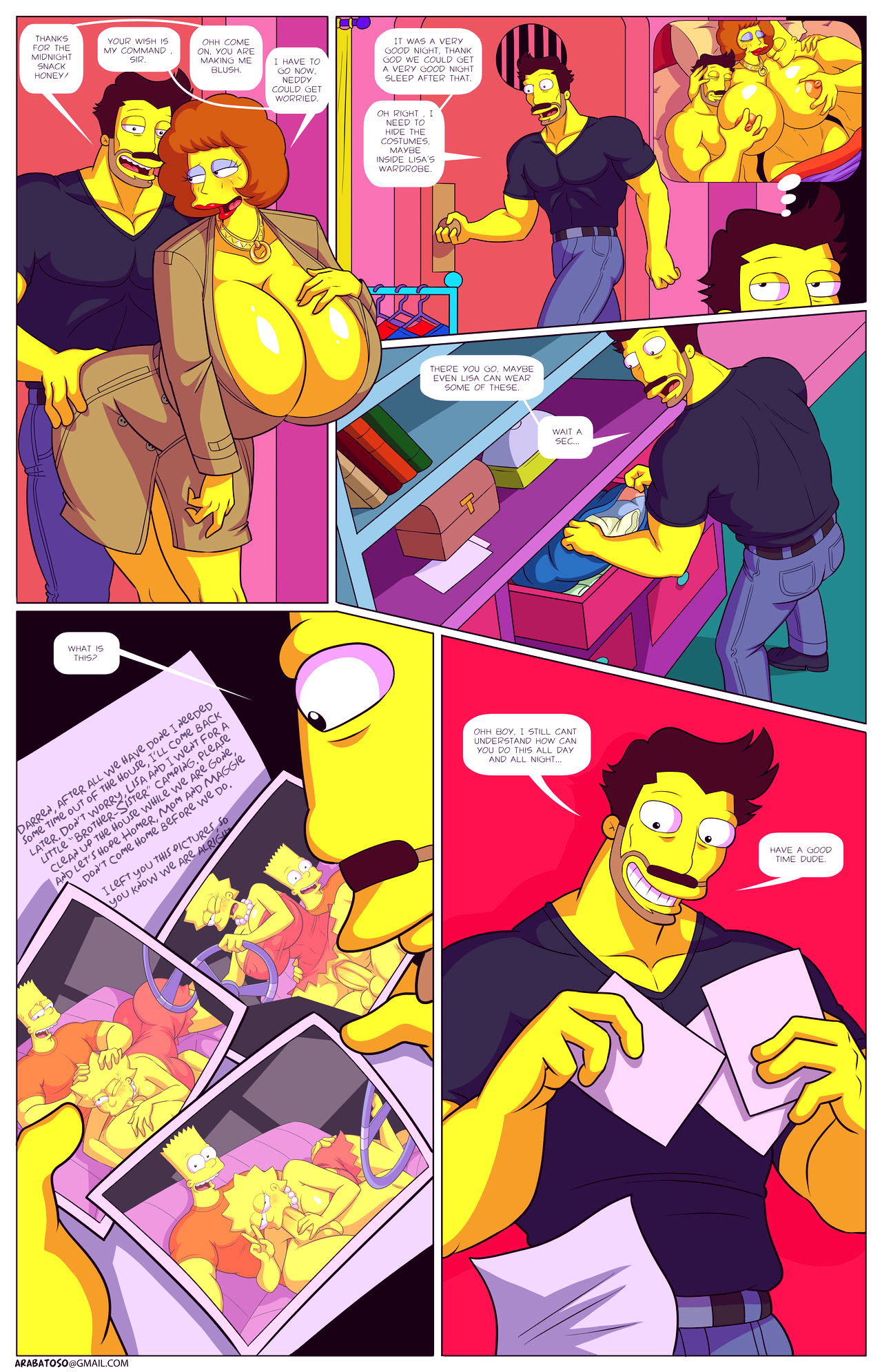 Darrens adventure or welcome to springfield porn comic picture 52
