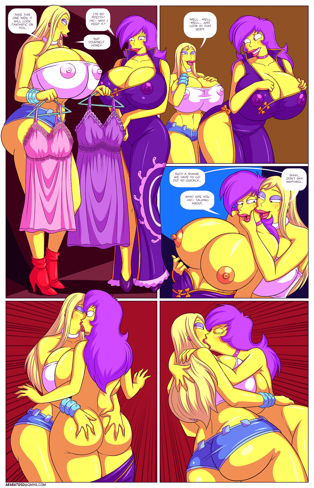 Darrens adventure or welcome to springfield porn comic picture 56