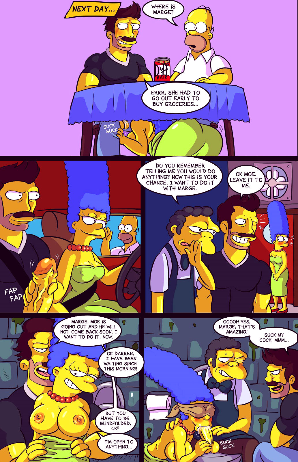Darrens adventure or welcome to springfield porn comic picture 7
