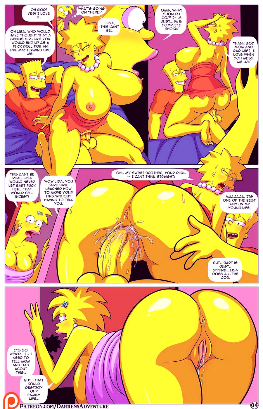 Darrens adventure or welcome to springfield porn comic picture 77