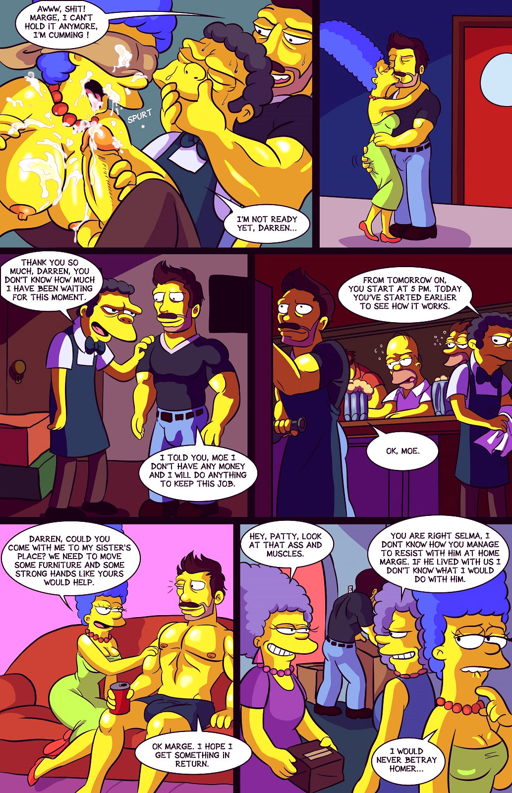 Darrens adventure or welcome to springfield porn comic picture 8