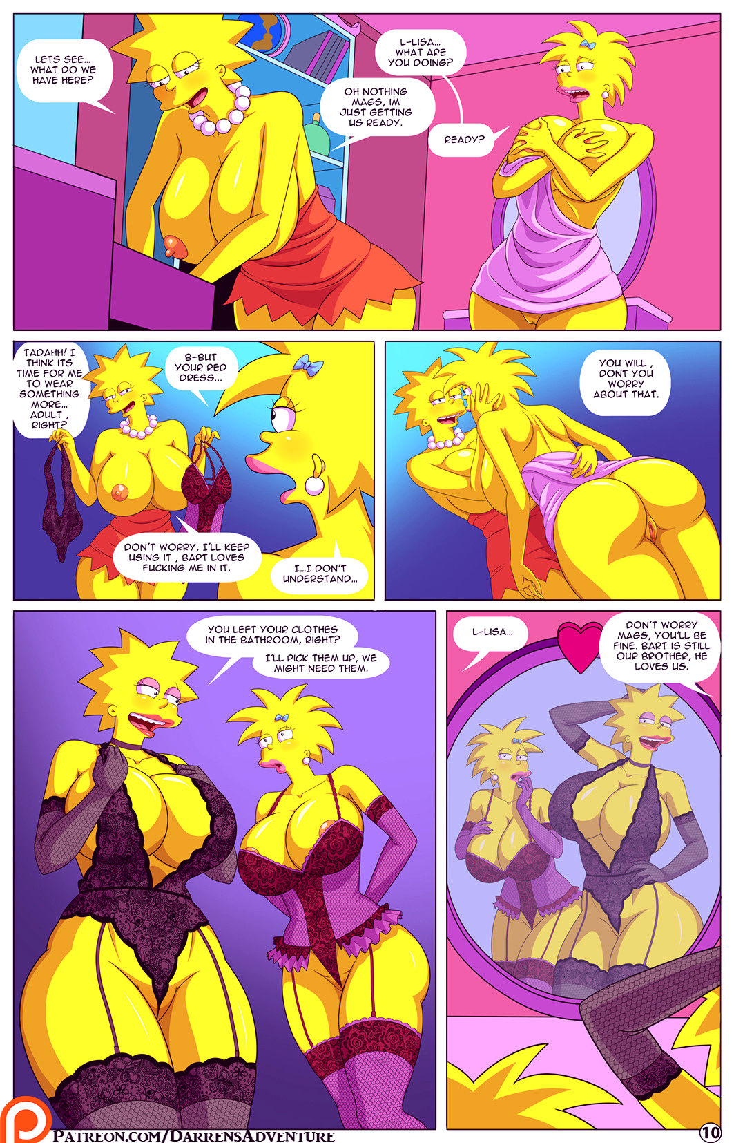 Darrens adventure or welcome to springfield porn comic picture 83