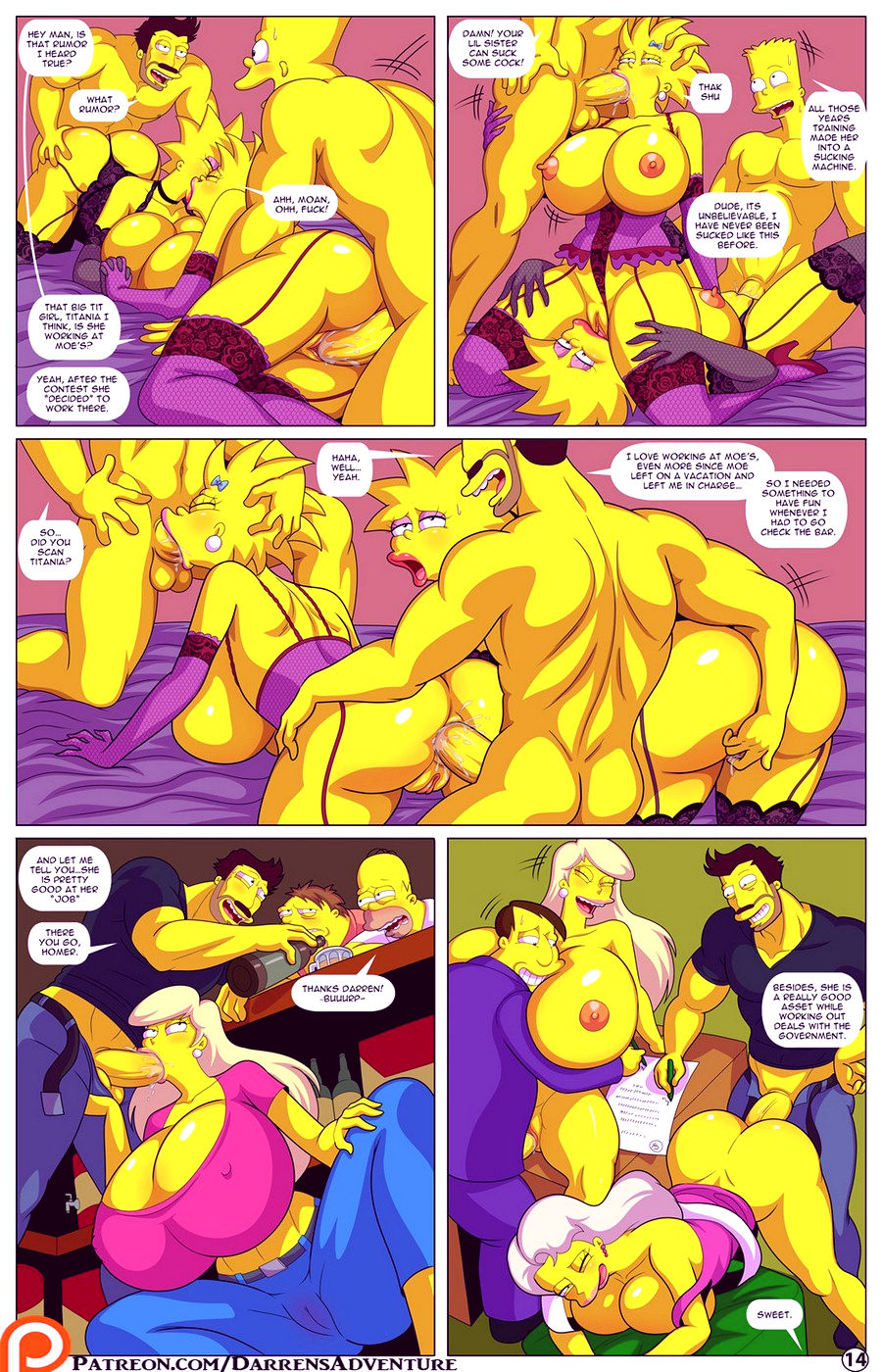 Darrens adventure or welcome to springfield porn comic picture 87