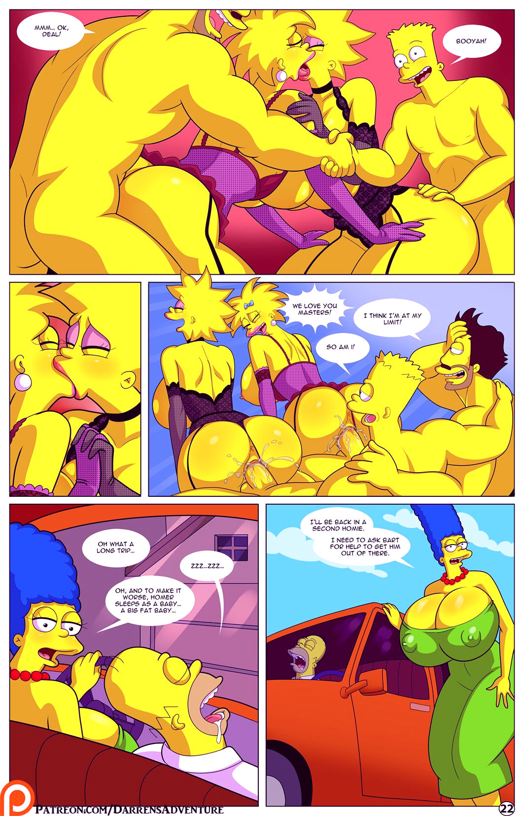 Darrens adventure or welcome to springfield porn comic picture 94