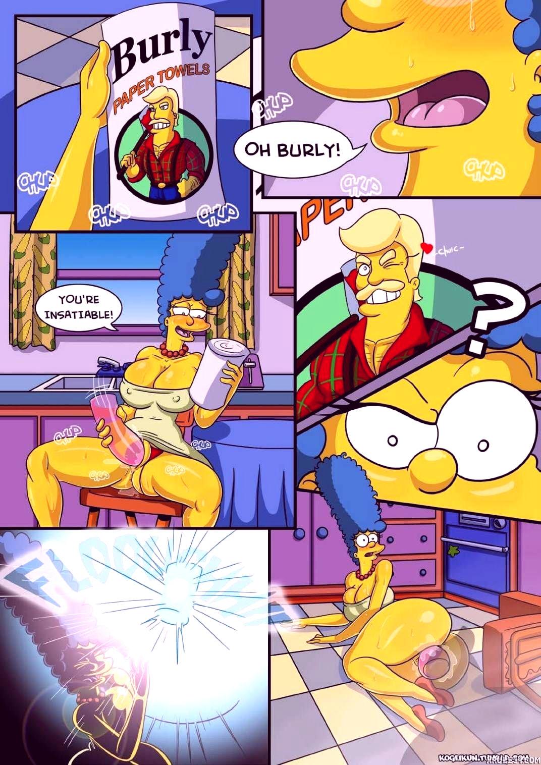 Marges erotic fantasies porn comic picture 2