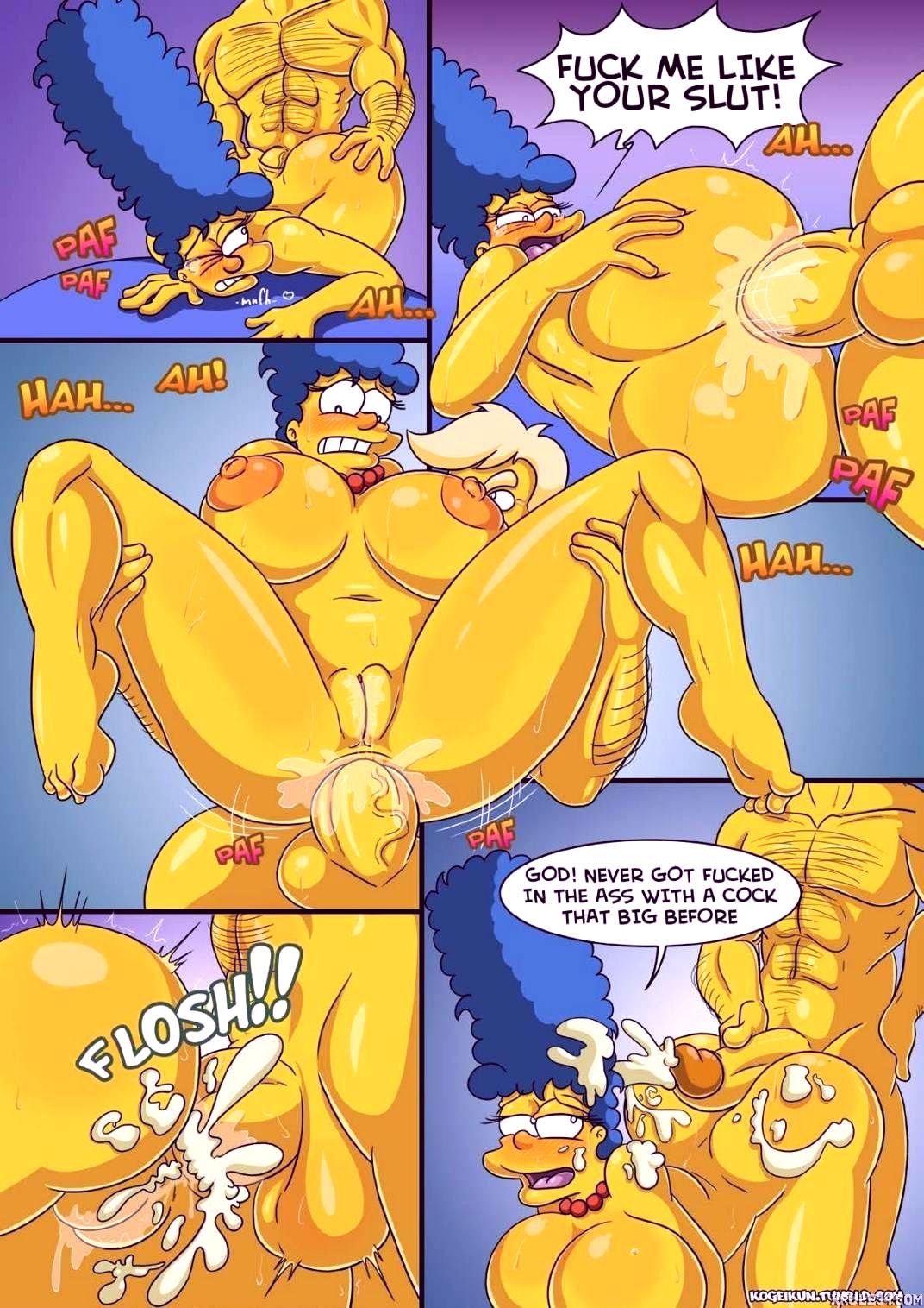 Marges erotic fantasies porn comic picture 5