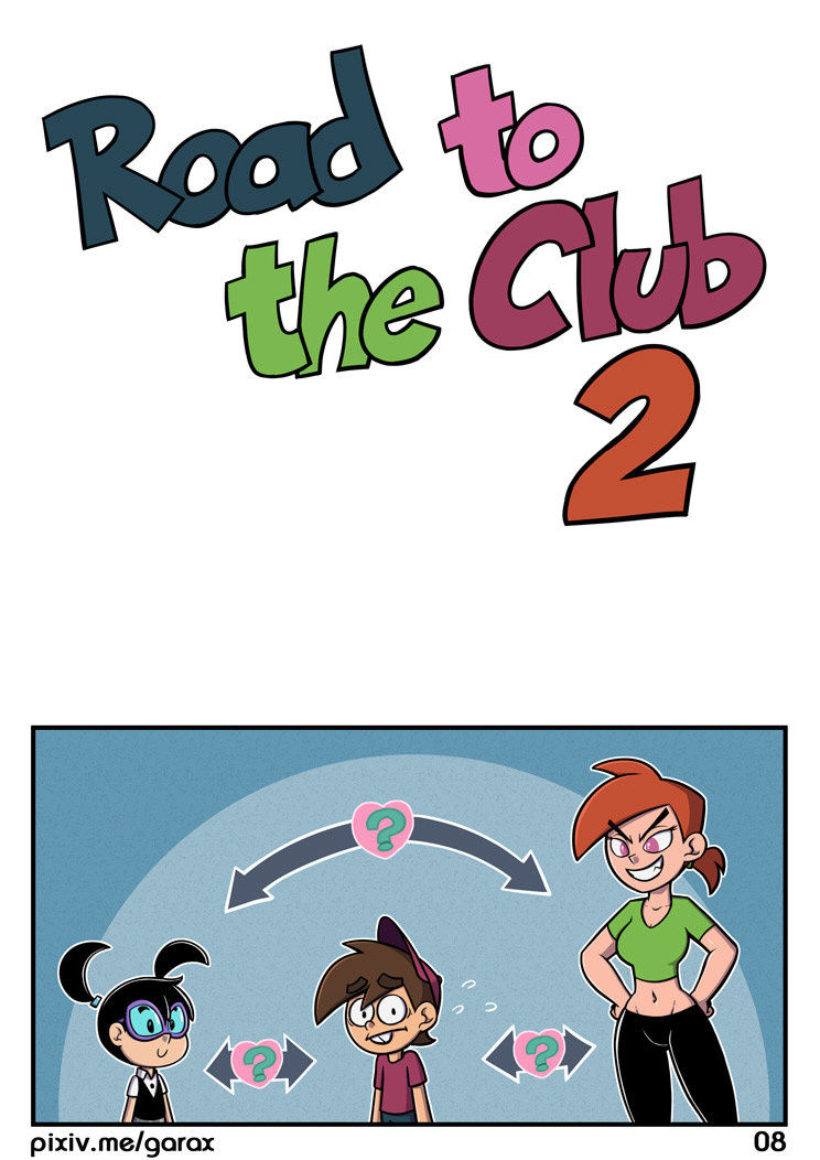 Road to the club second turn porn comic picture 7