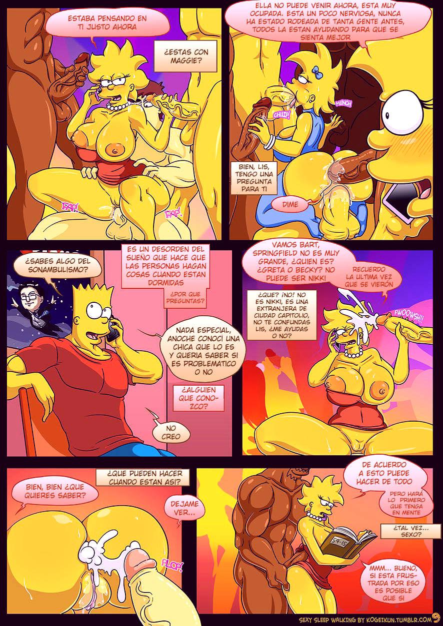Sexy sleep walking porn comic picture 10