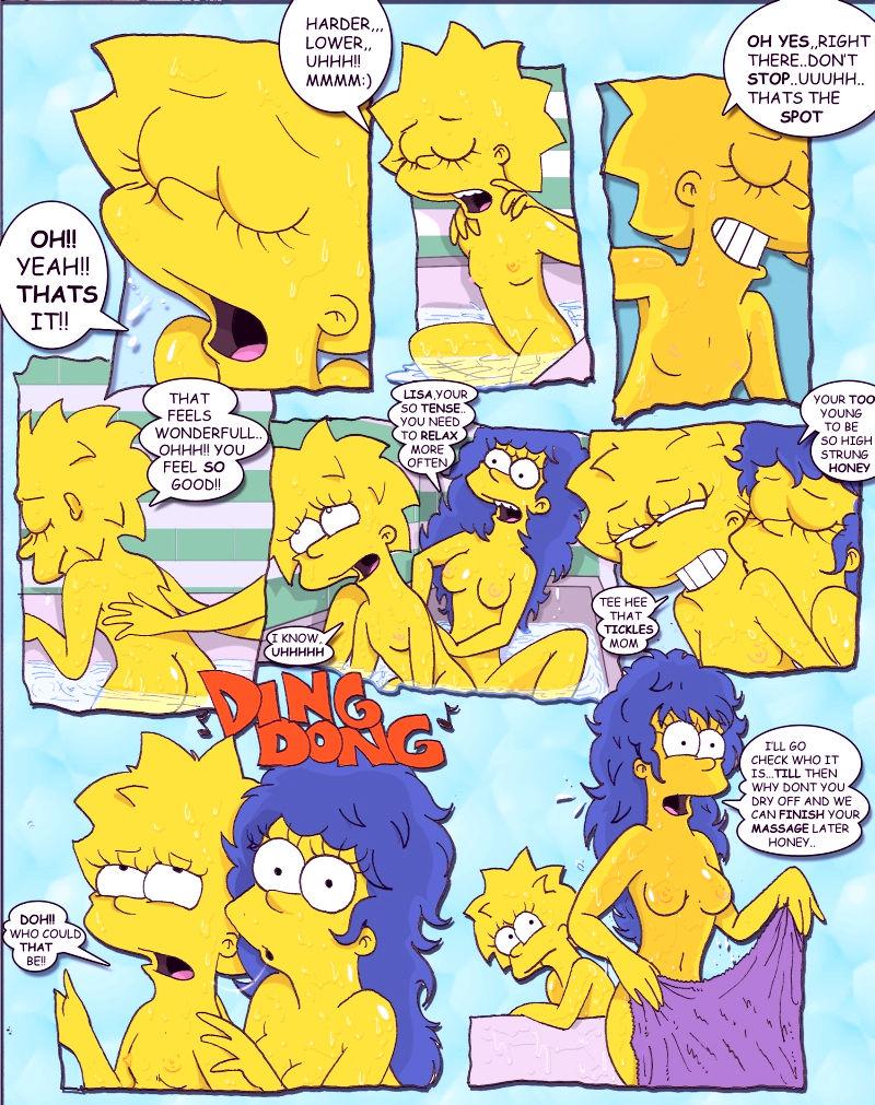 Simpcest 2 lolisa porn comic picture 2