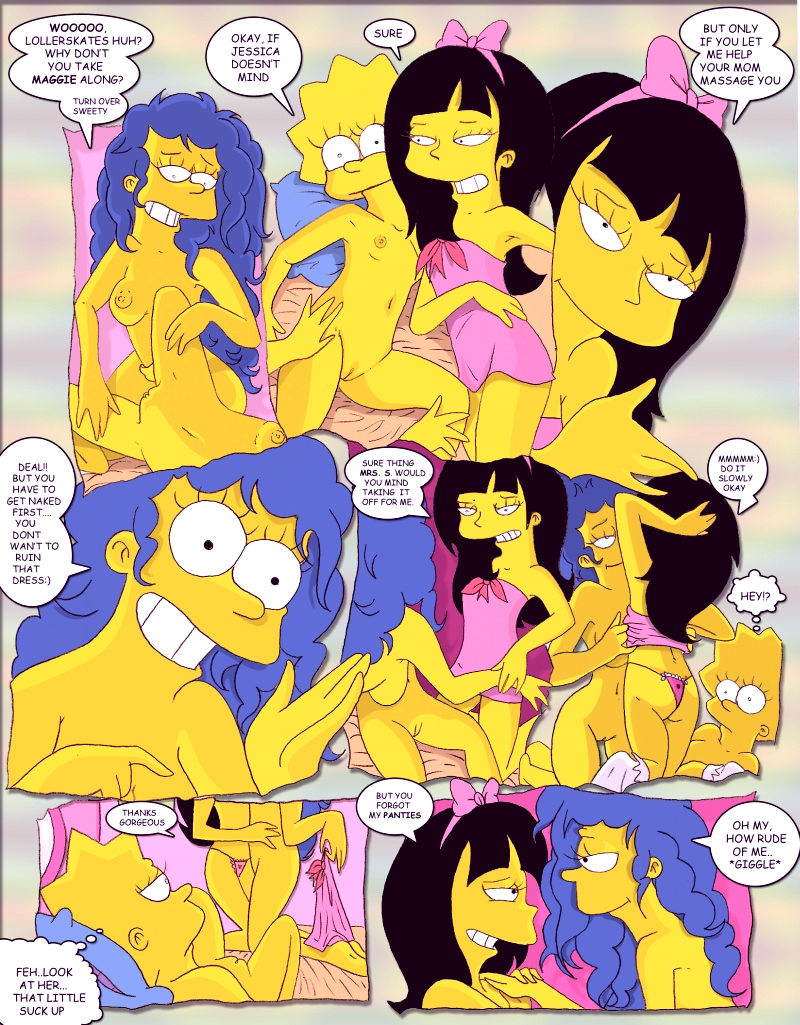 Simpcest 2 lolisa porn comic picture 7