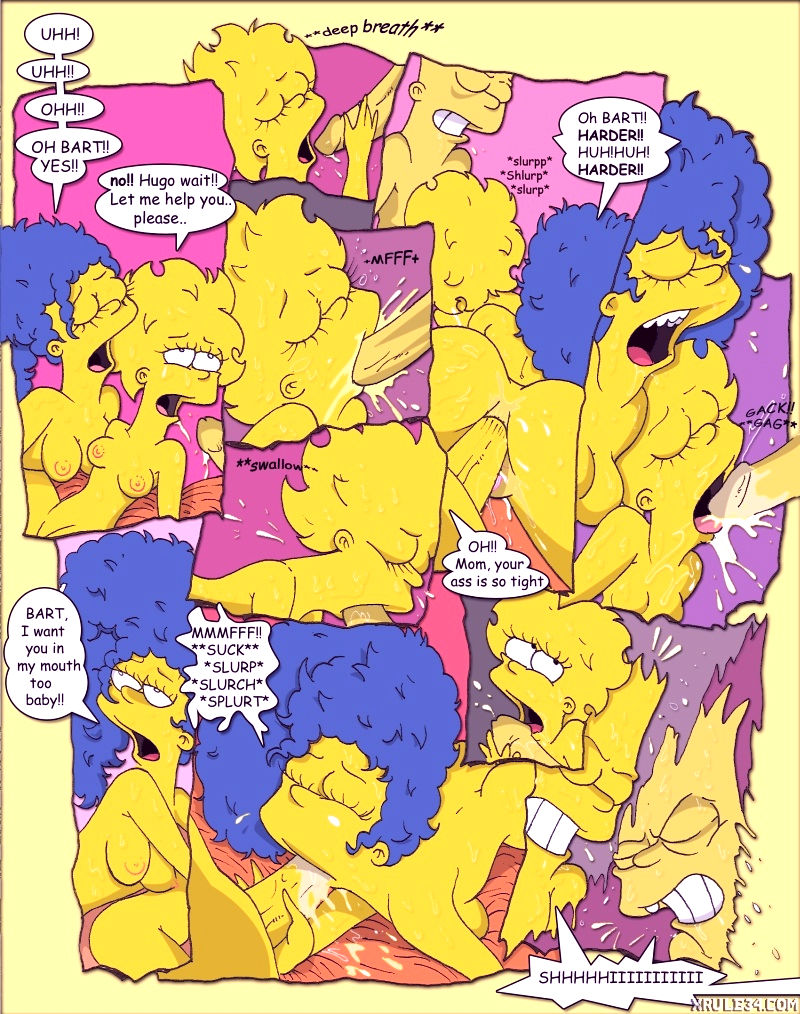 Simpcest porn comic picture 24