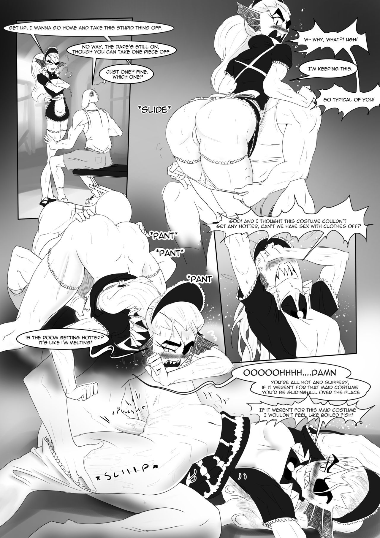 Spear of just us 2 battle against a true nympho porn comic picture 5