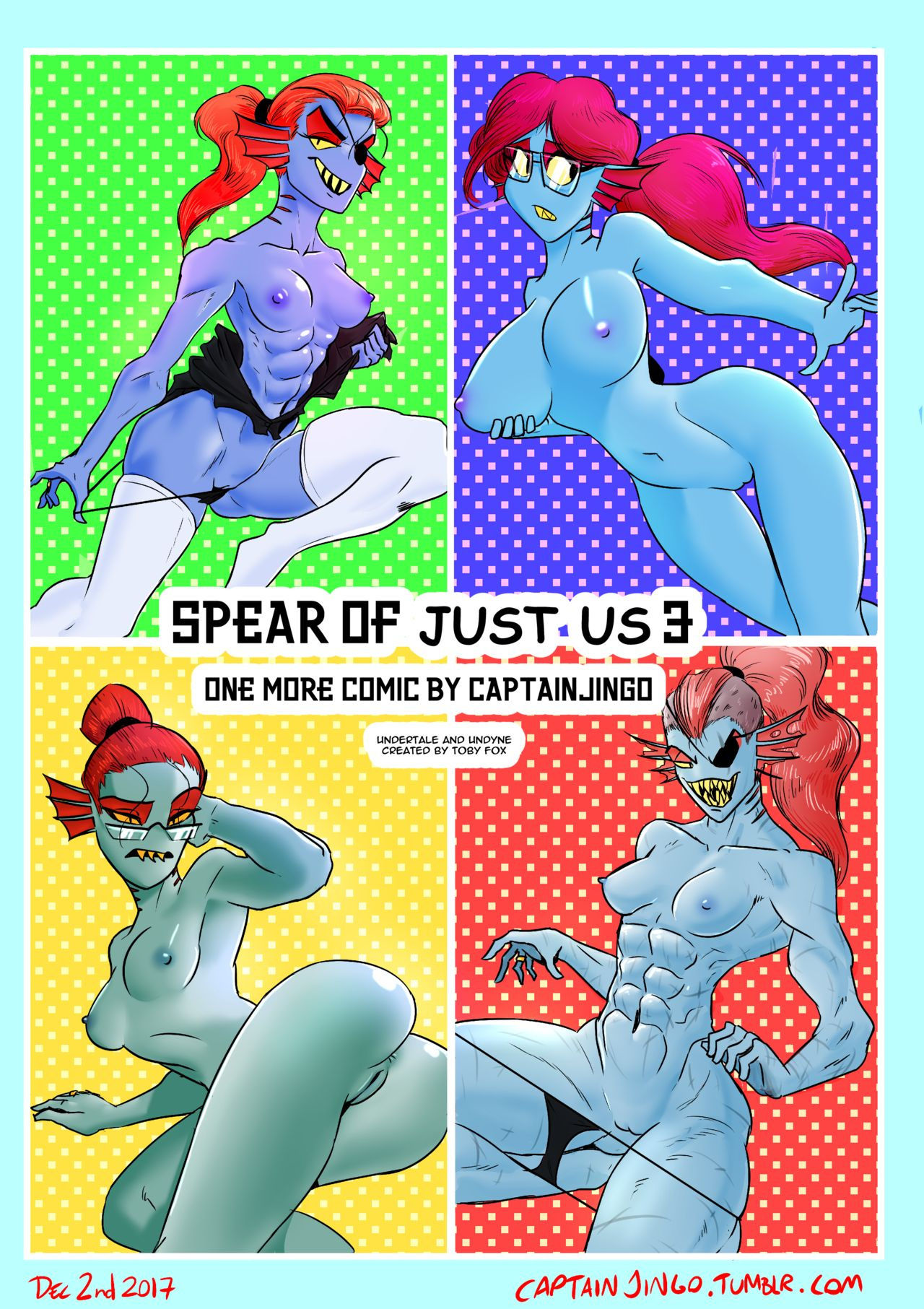 Spear of just us 3 porn comic picture 1