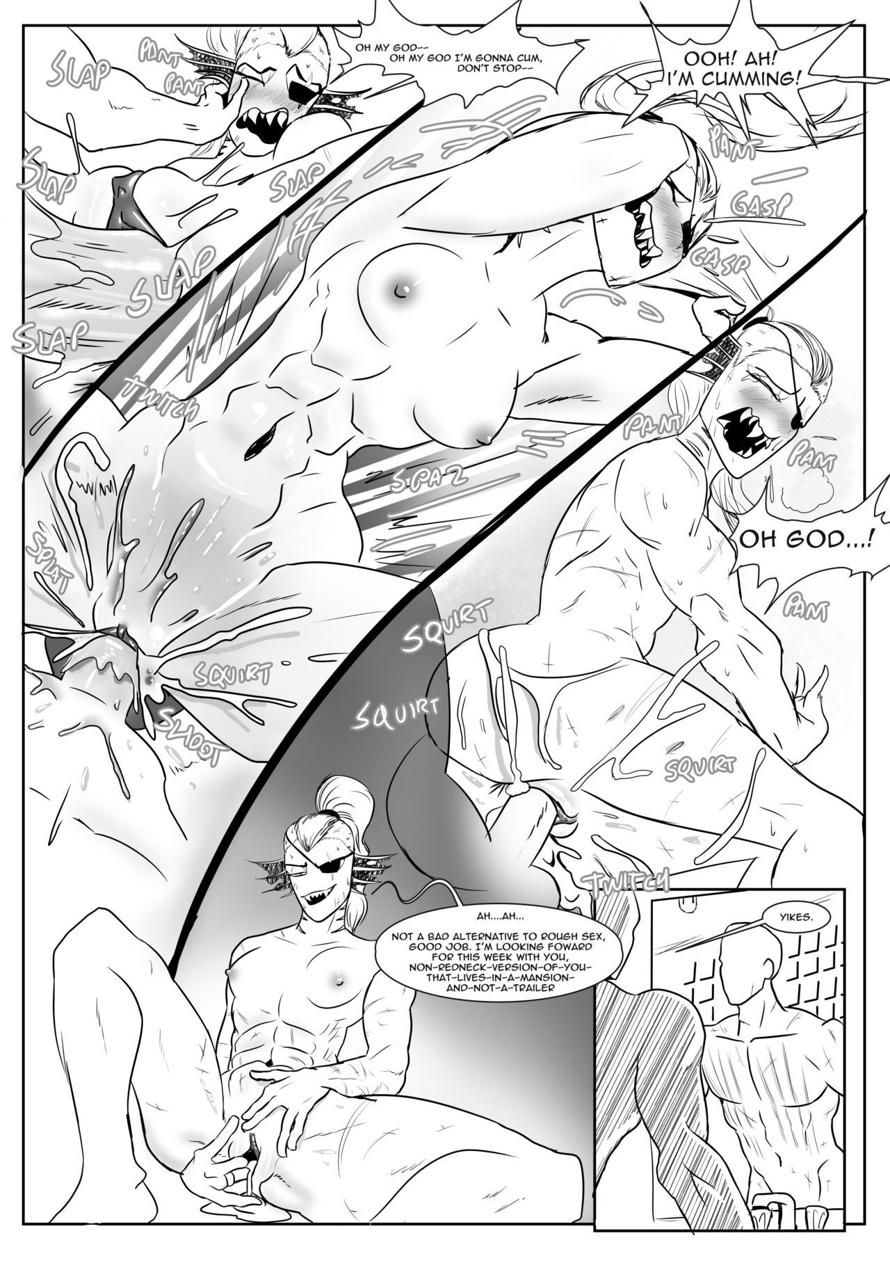 Spear of just us 3 porn comic picture 12
