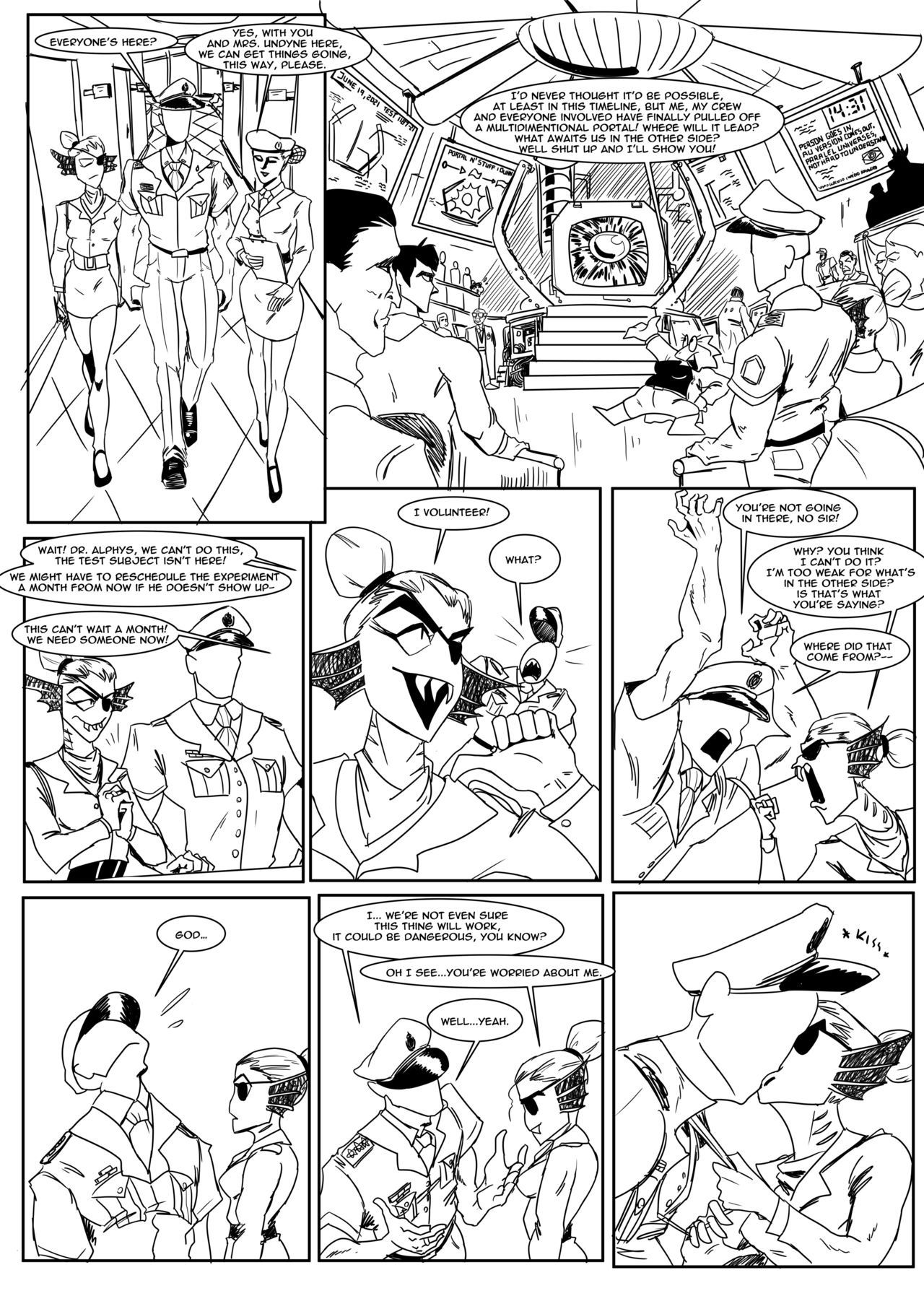 Spear of just us 3 porn comic picture 4