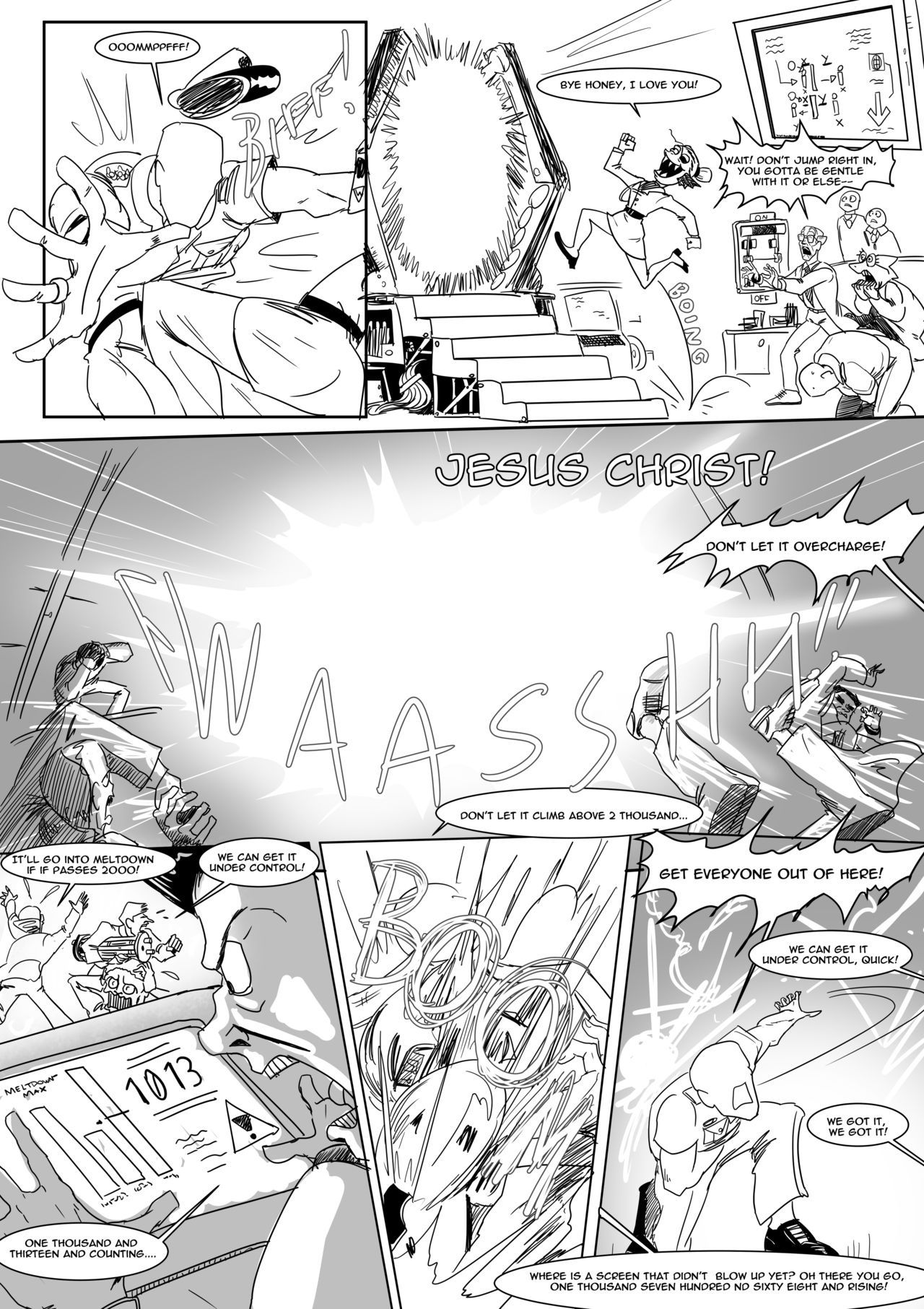 Spear of just us 3 porn comic picture 5
