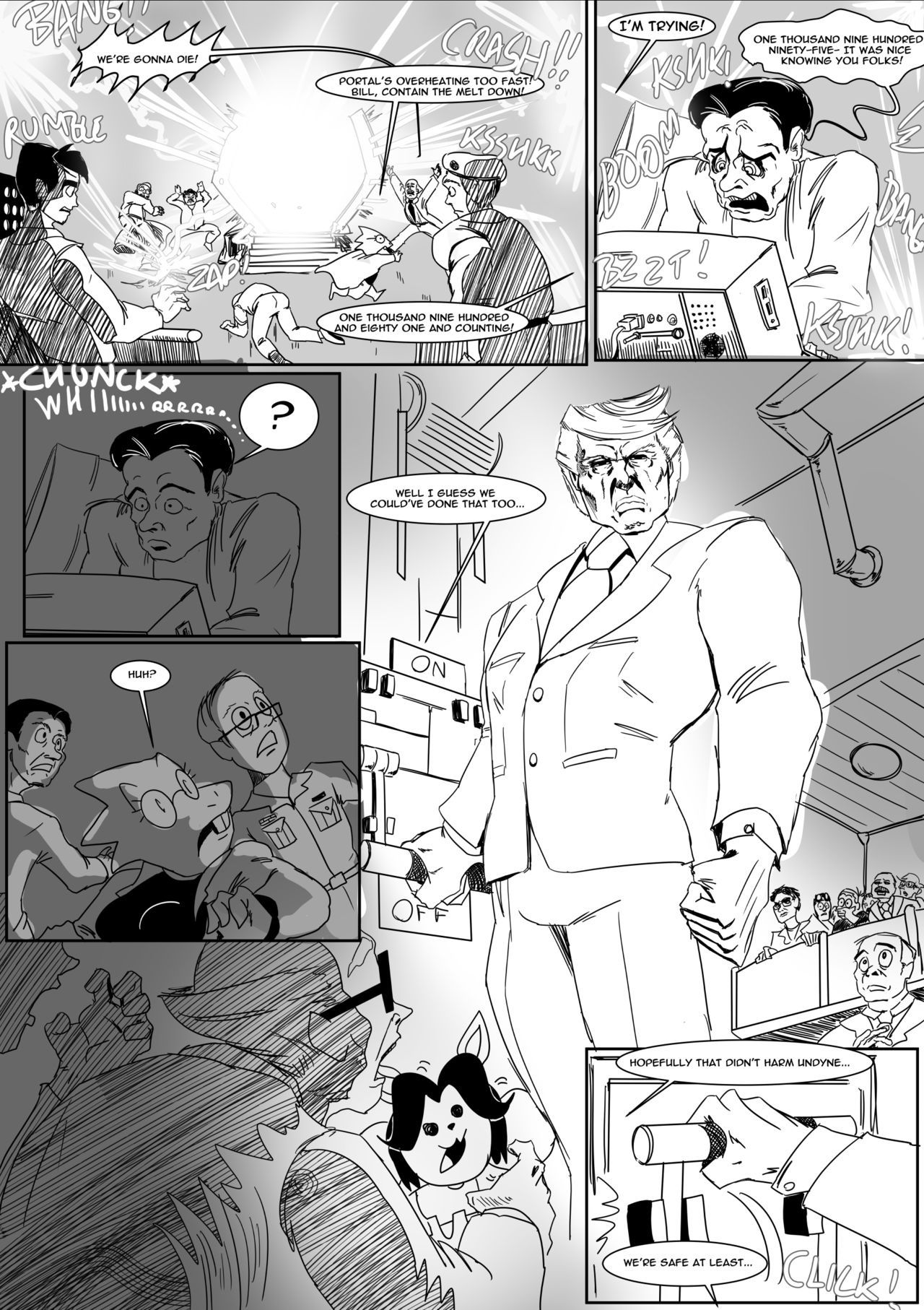 Spear of just us 3 porn comic picture 6