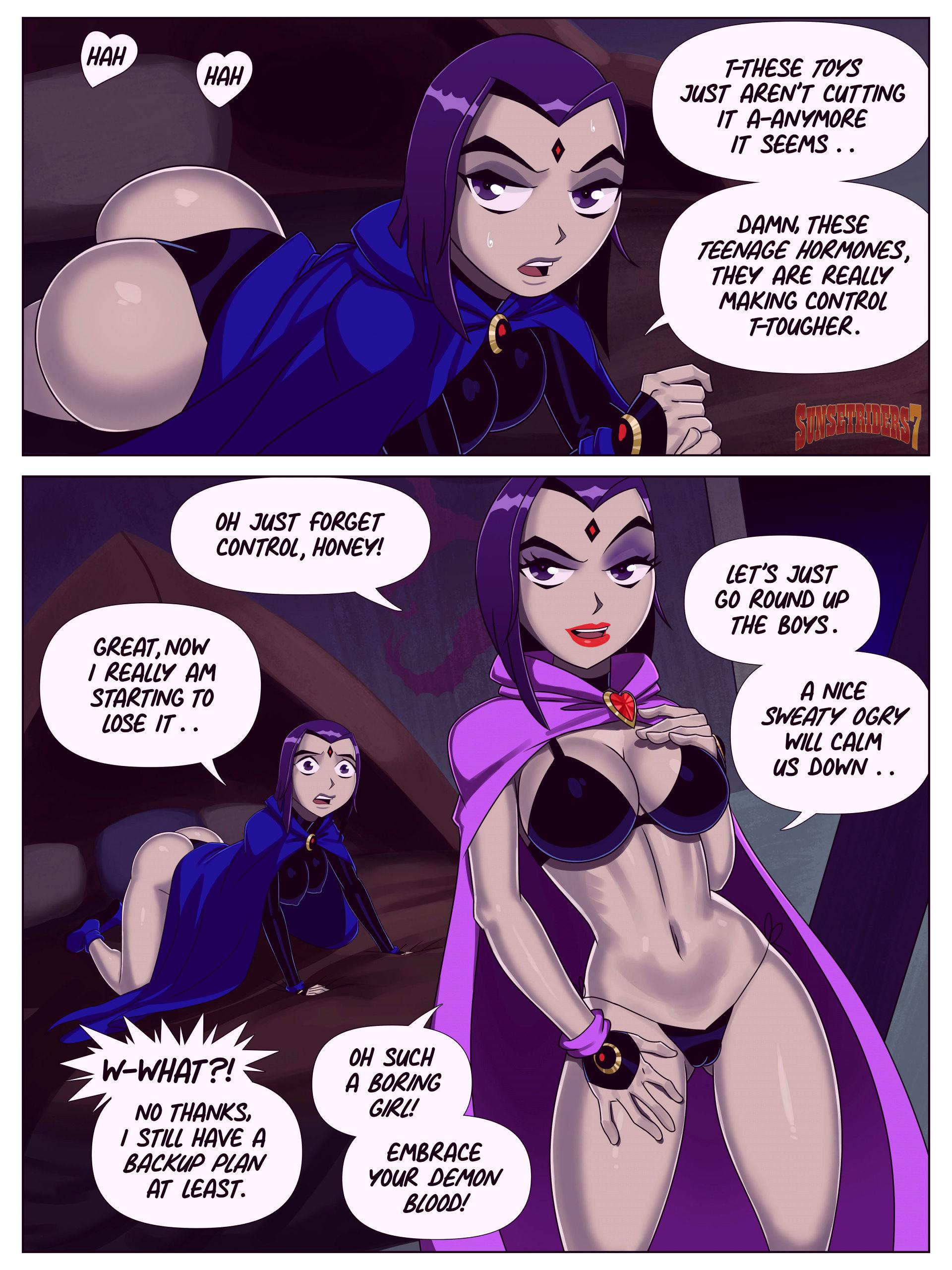Starfire the terrible porn comic picture 4