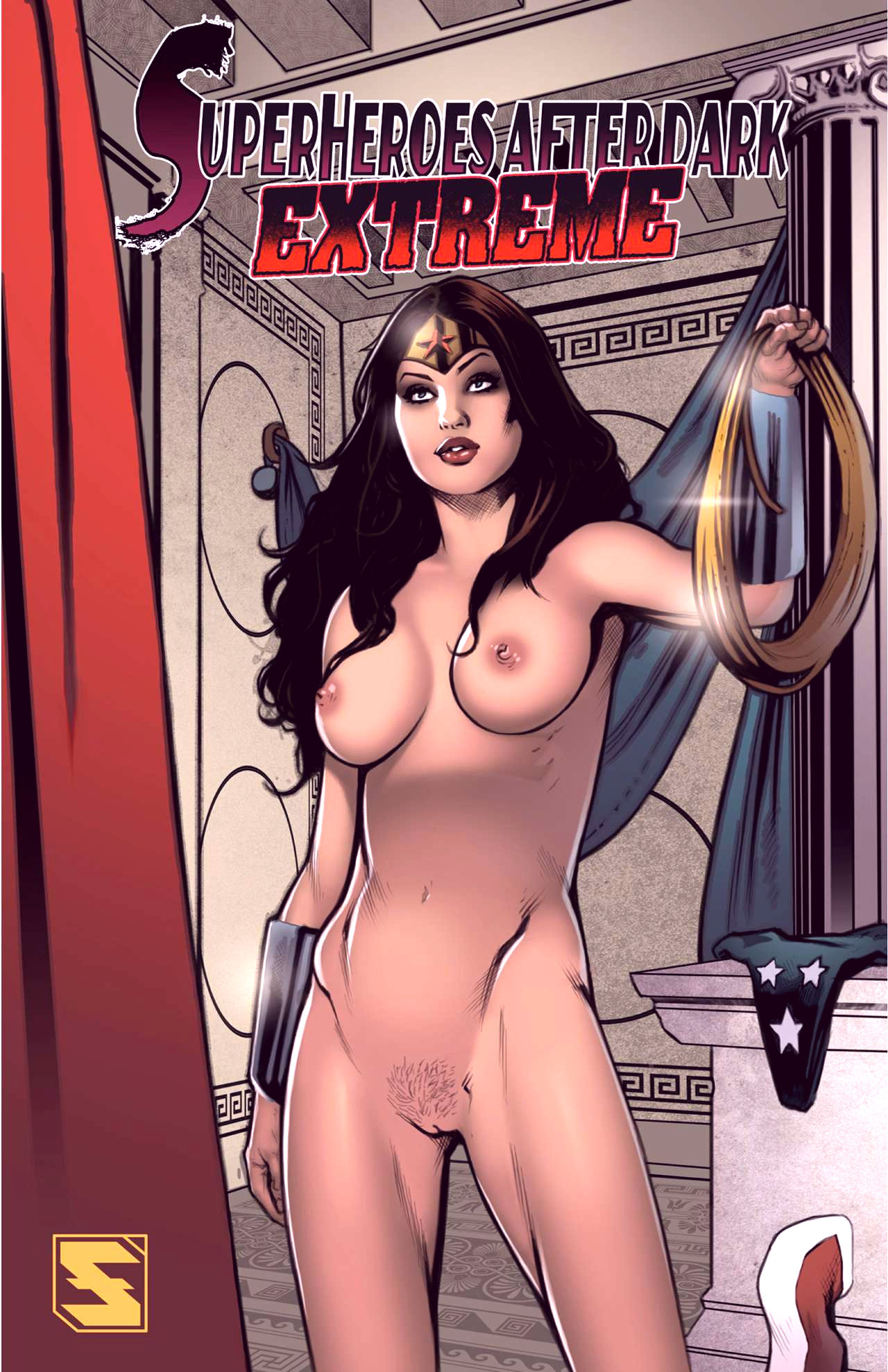 Superheroes after dark extreme porn comic picture 1