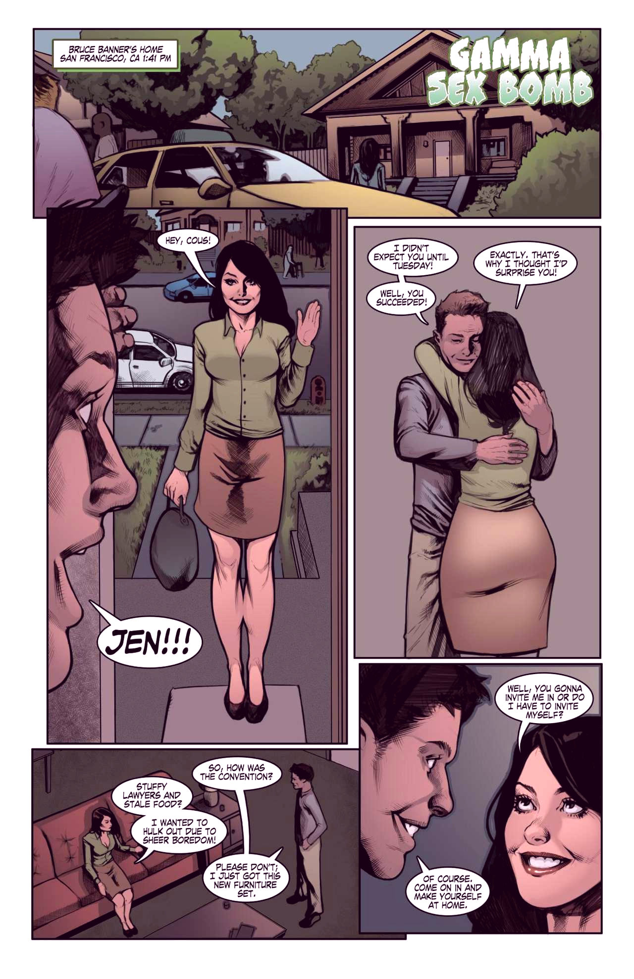Superheroes after dark extreme porn comic picture 15