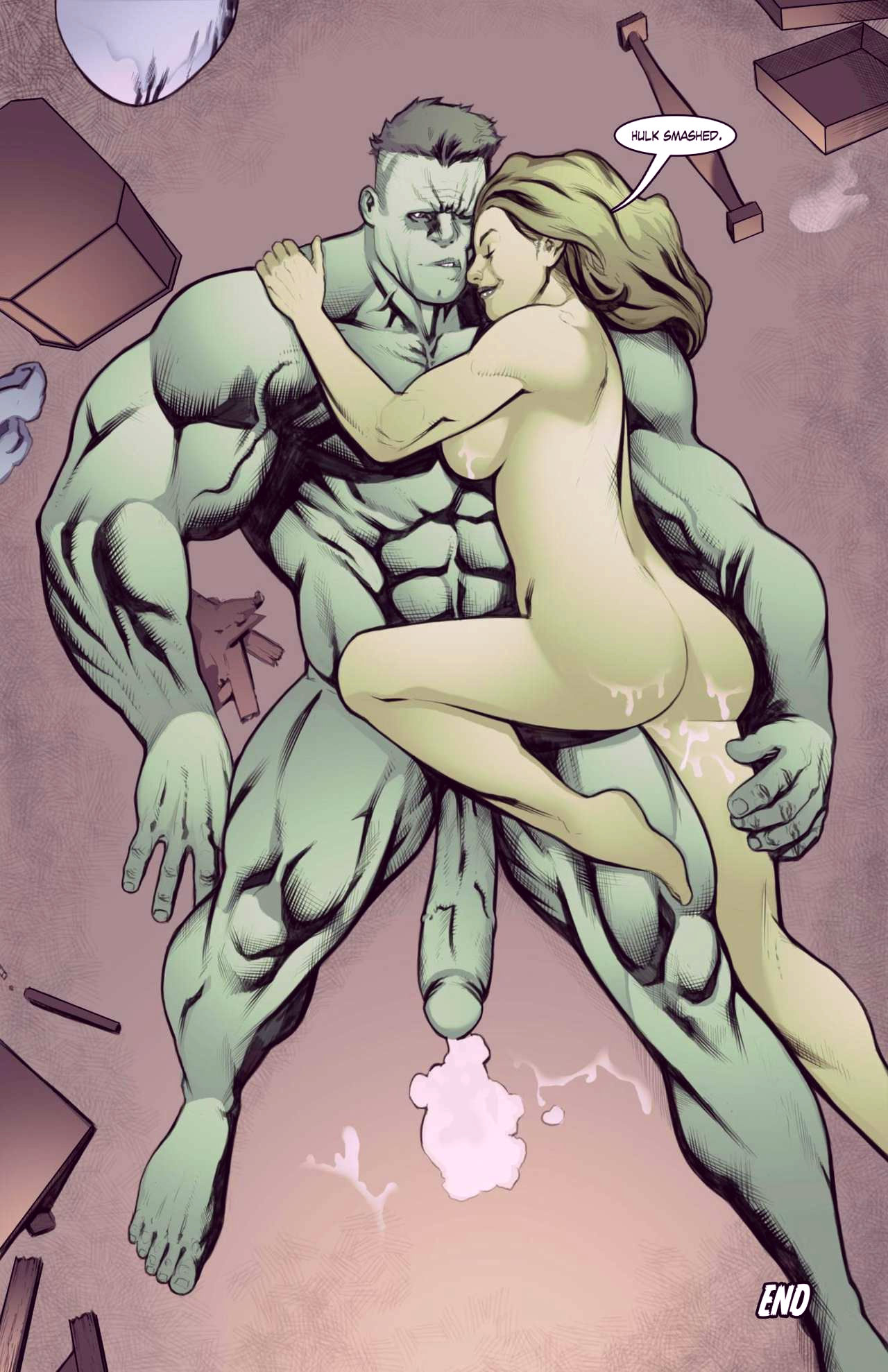Superheroes after dark extreme porn comic picture 20